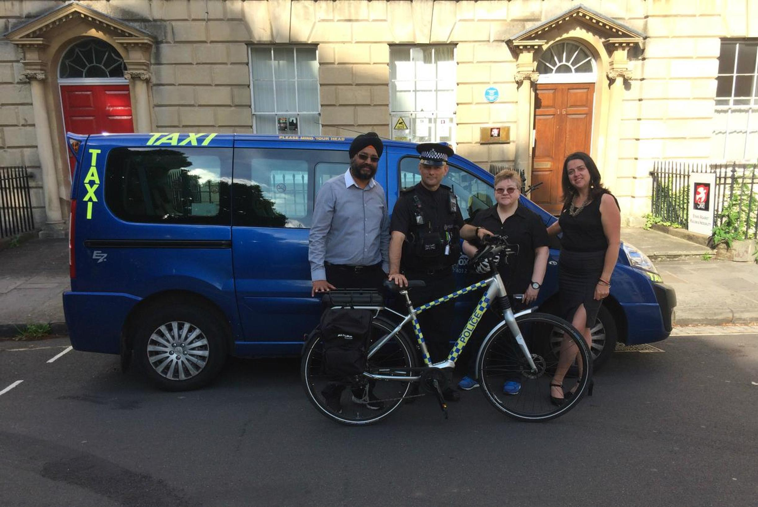 'Taxi Cop' takes to the beat in Bristol