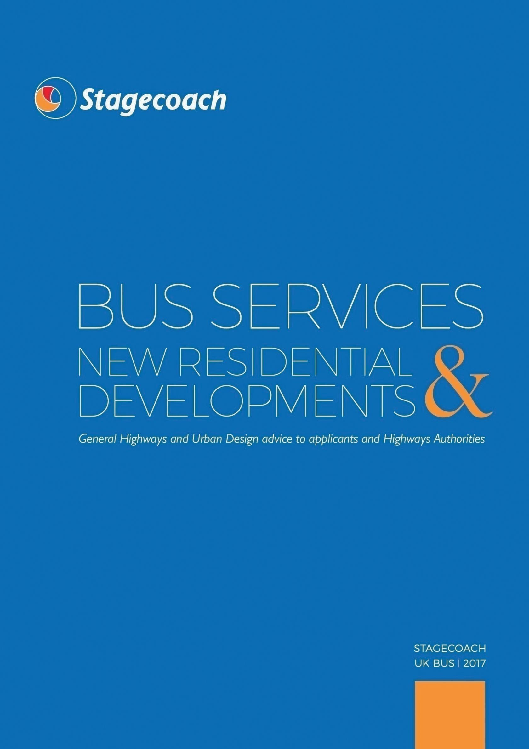 Guide promotes bus-friendly new housing developments