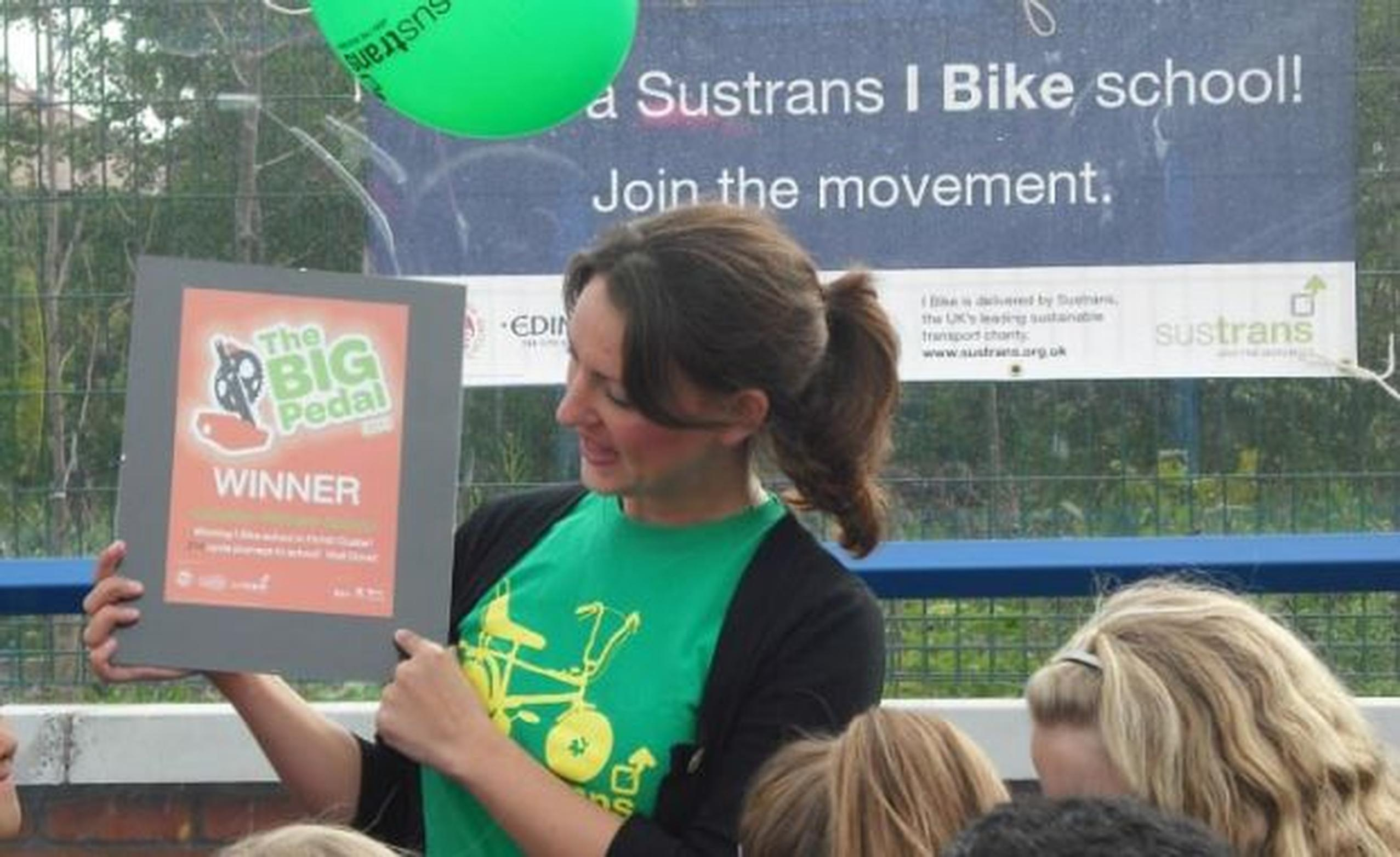 Sustrans Scotland's 'I Bike' project helps young people to cycle to school