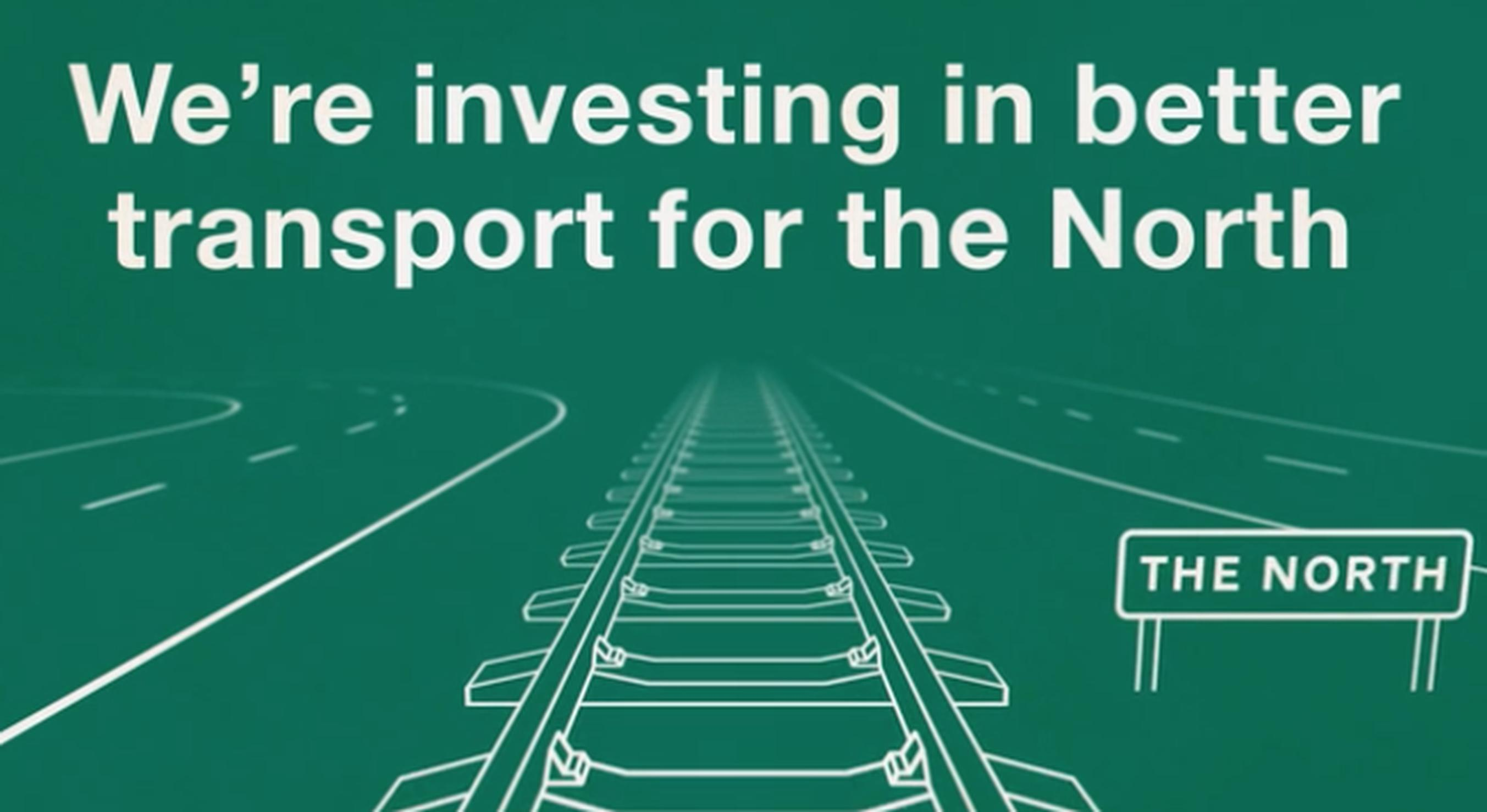 The Yorkshire Post article featured a DfT animation outlining government investments in Northern rail and road, and also better airport connections between London and the region
