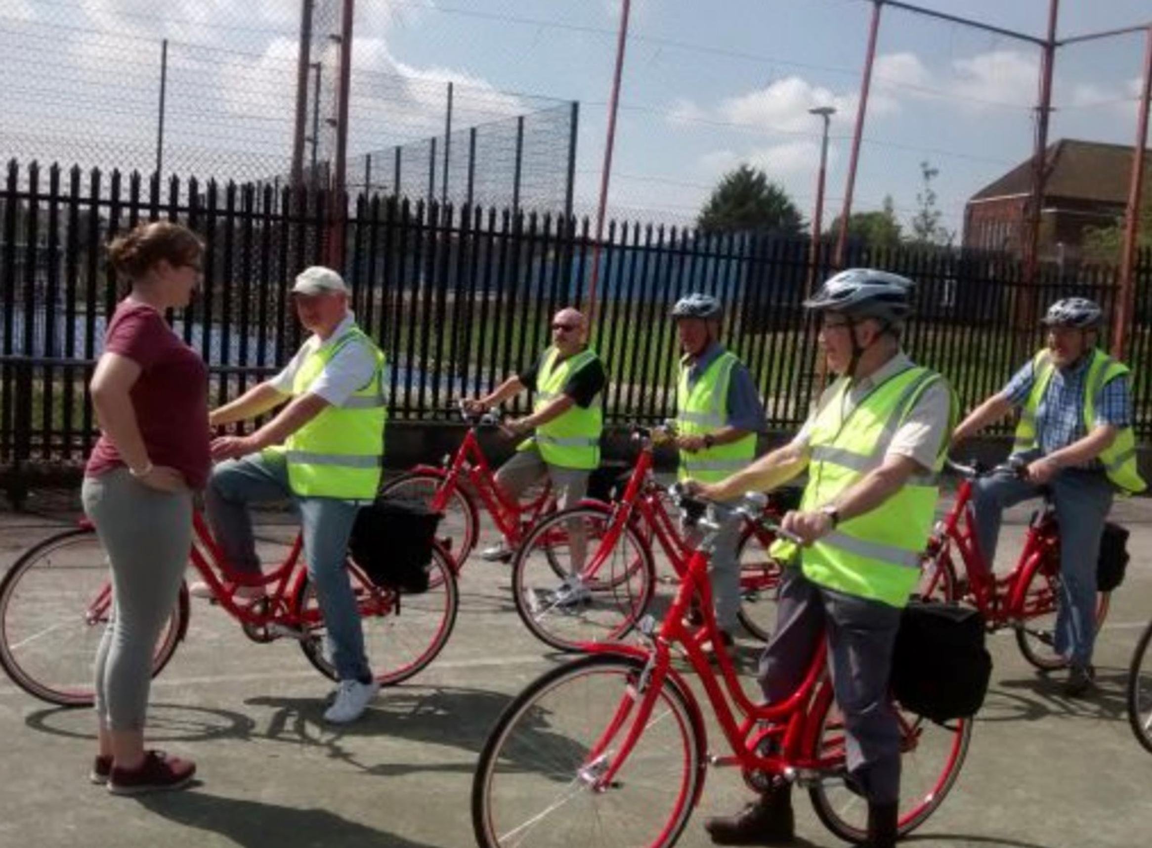 East Belfast Wise Men's Shed signed up to the Community Active Travel Programme