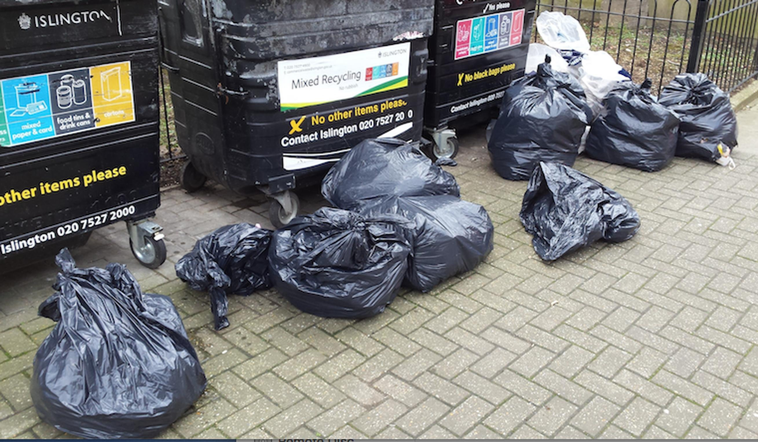£11k bill for fly-tipping takeaway in Islington Council prosecution