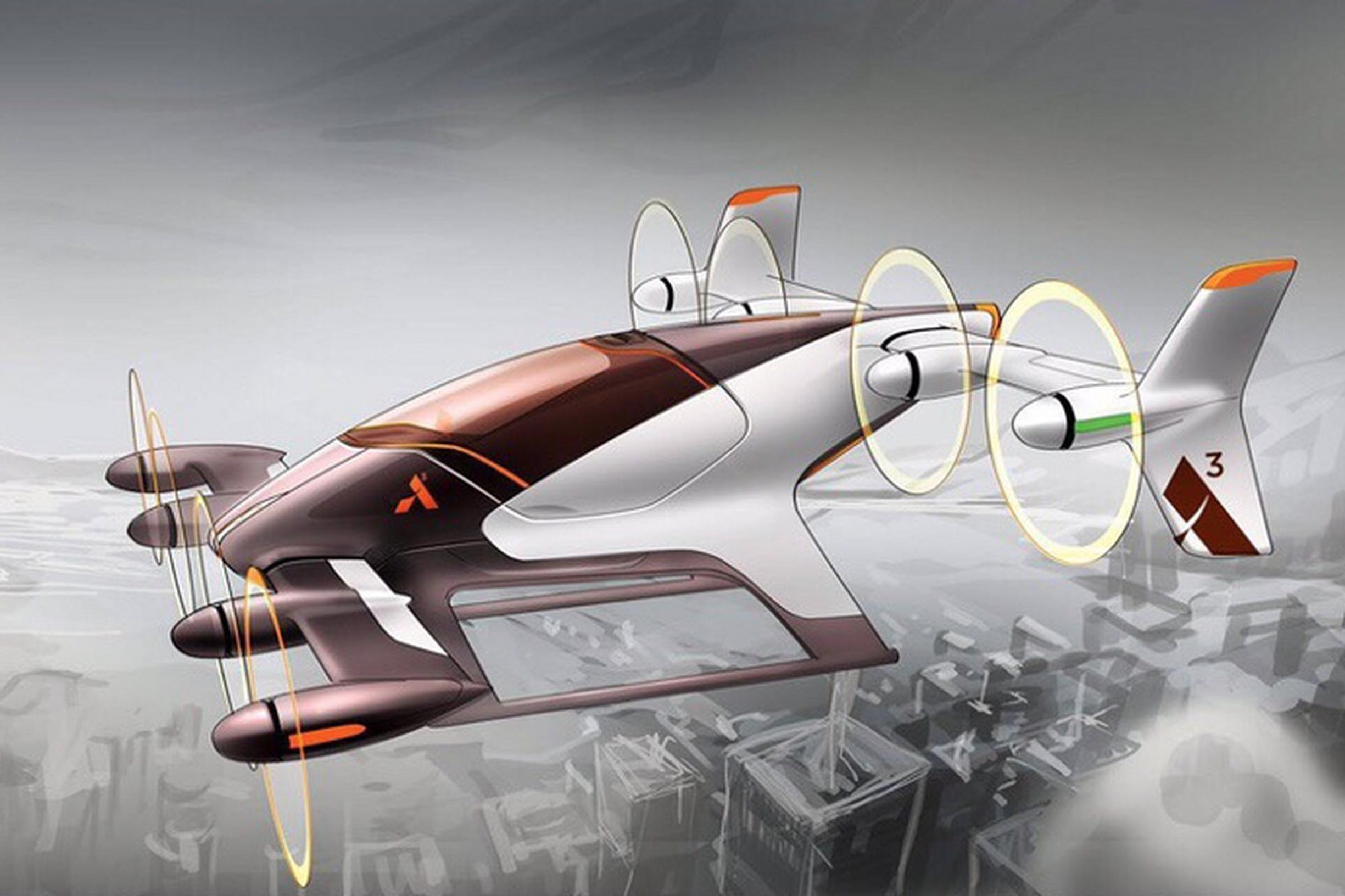 But will it take off? The flying taxi concept is the objective of more than one major enterprise