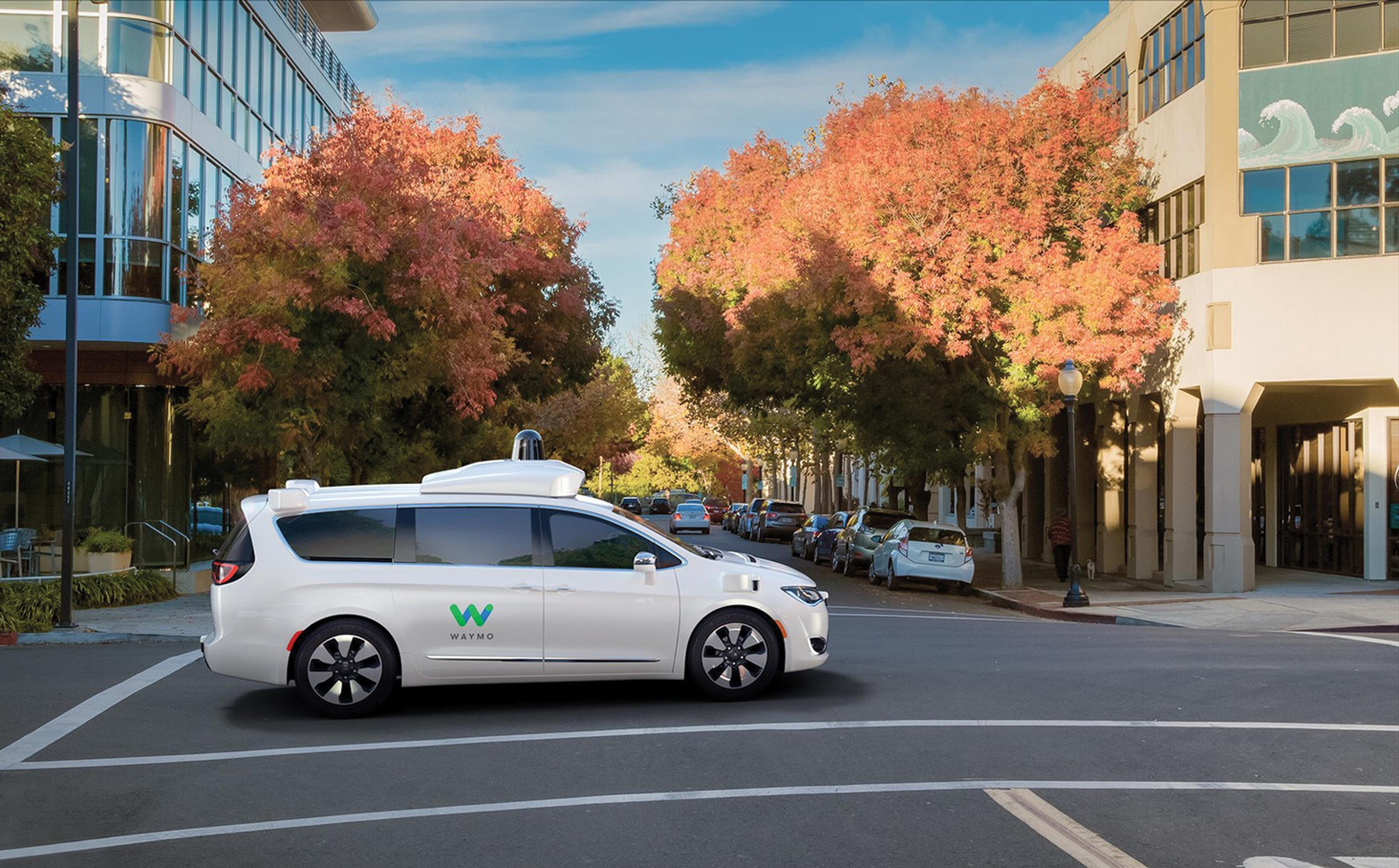 Waymo's latest self-driving vehicle is a minivan meant for multiple and shared occupancy