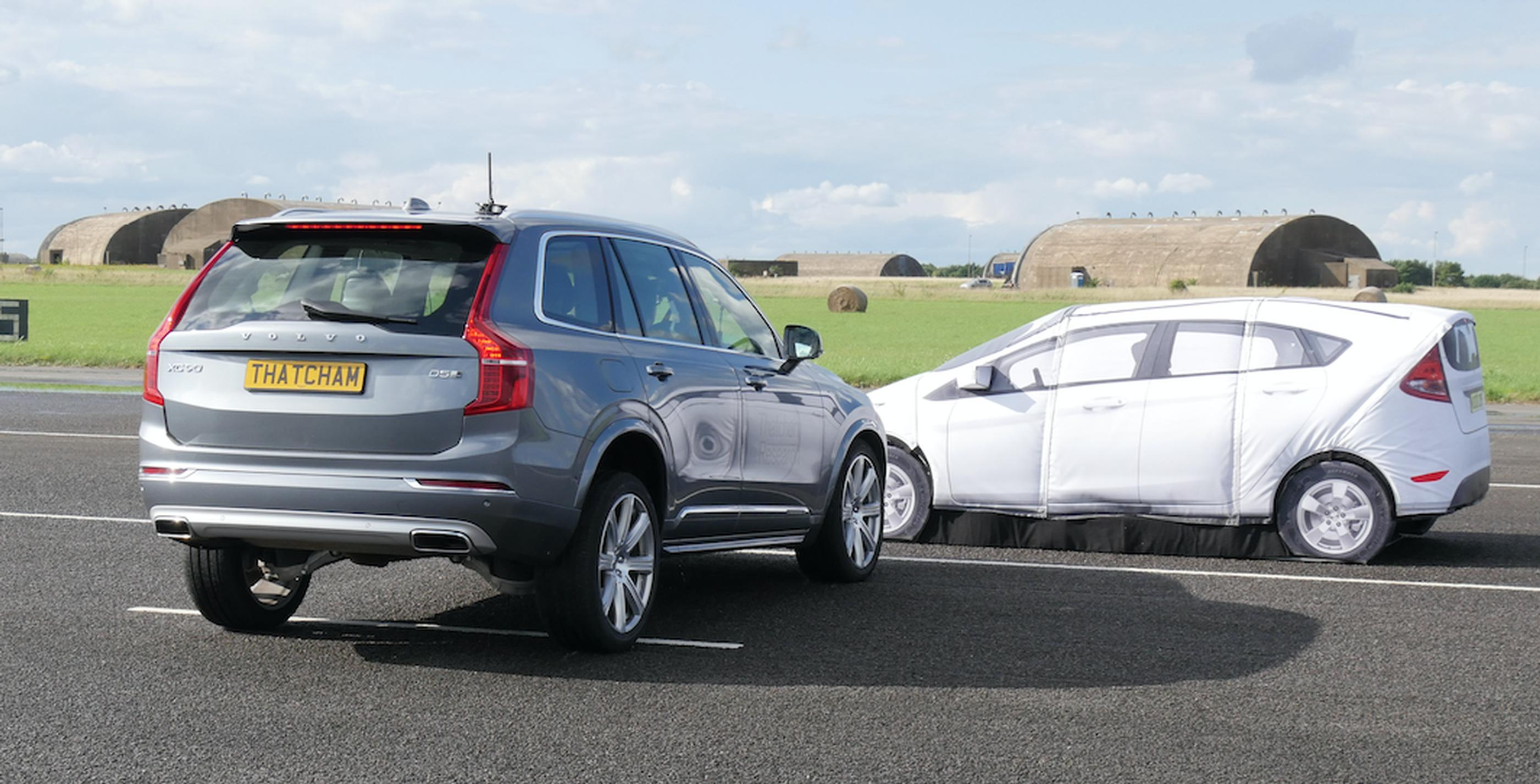 Euro NCAP cross traffic test conducted by Thatcham Research
