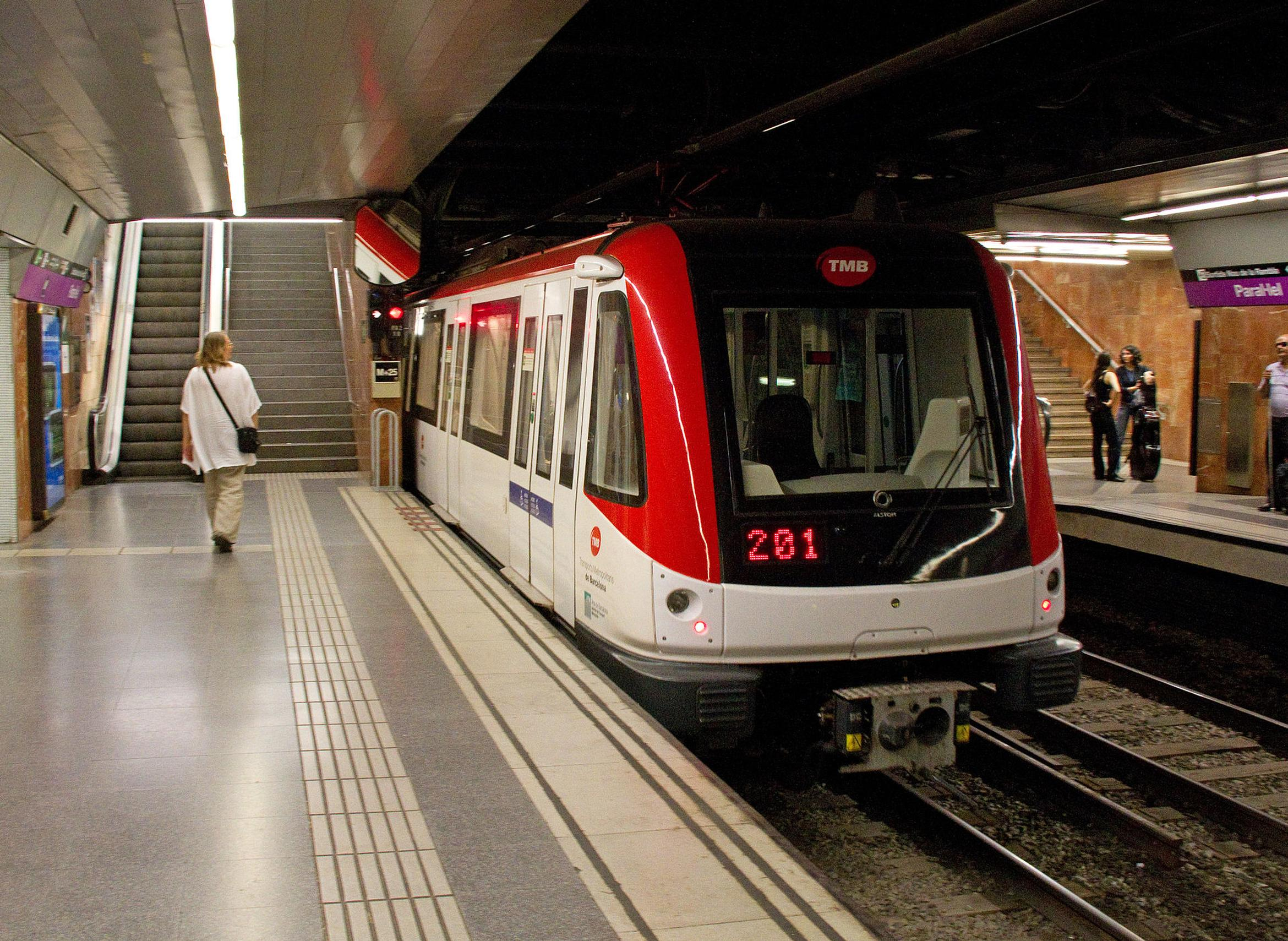 Strikes affecting Barcelona`s underground metro system had the greatest influence on air quality