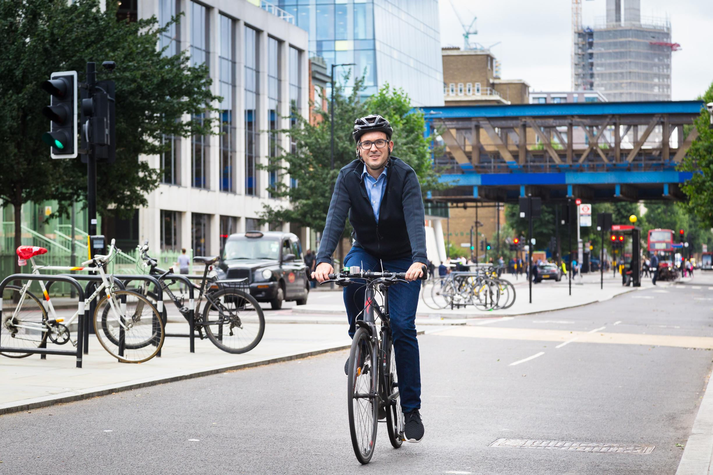 Will Norman believes that the roll-out of Quietways will encourage more people to take up cycling