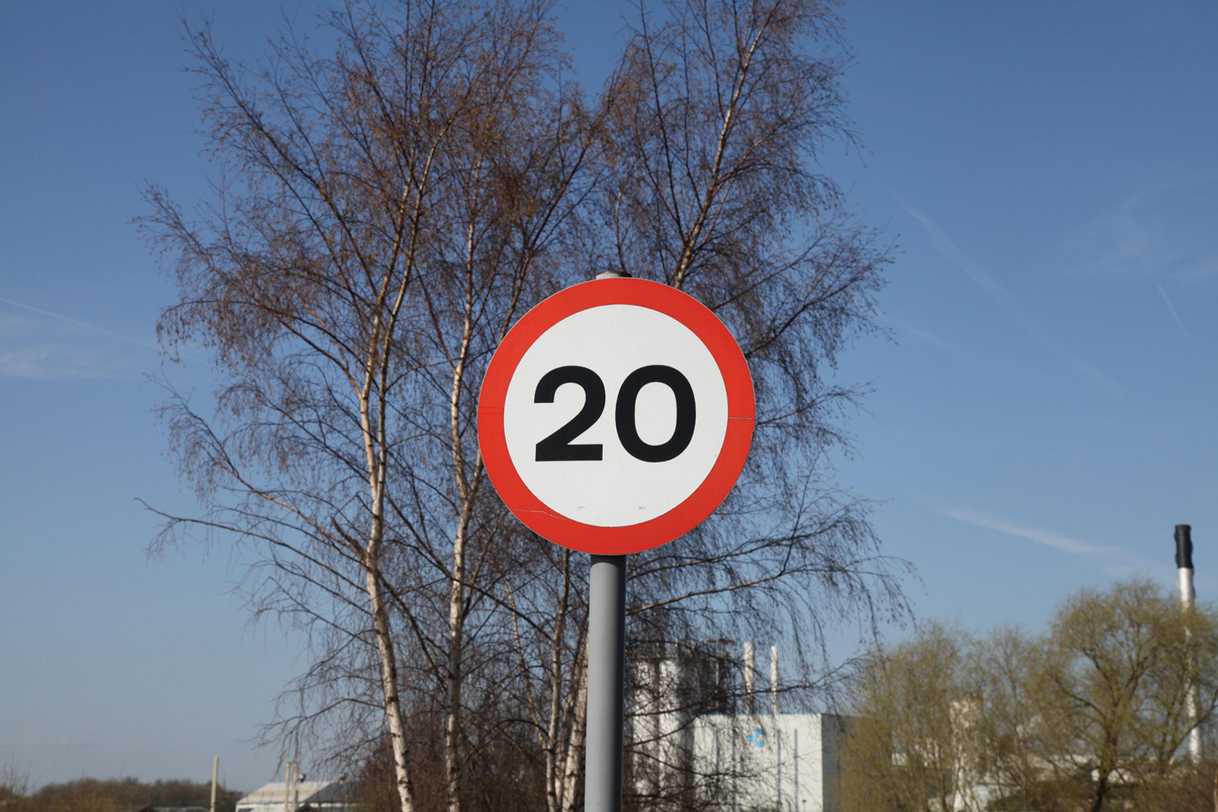 20mph: signed-only limits make little difference to speed