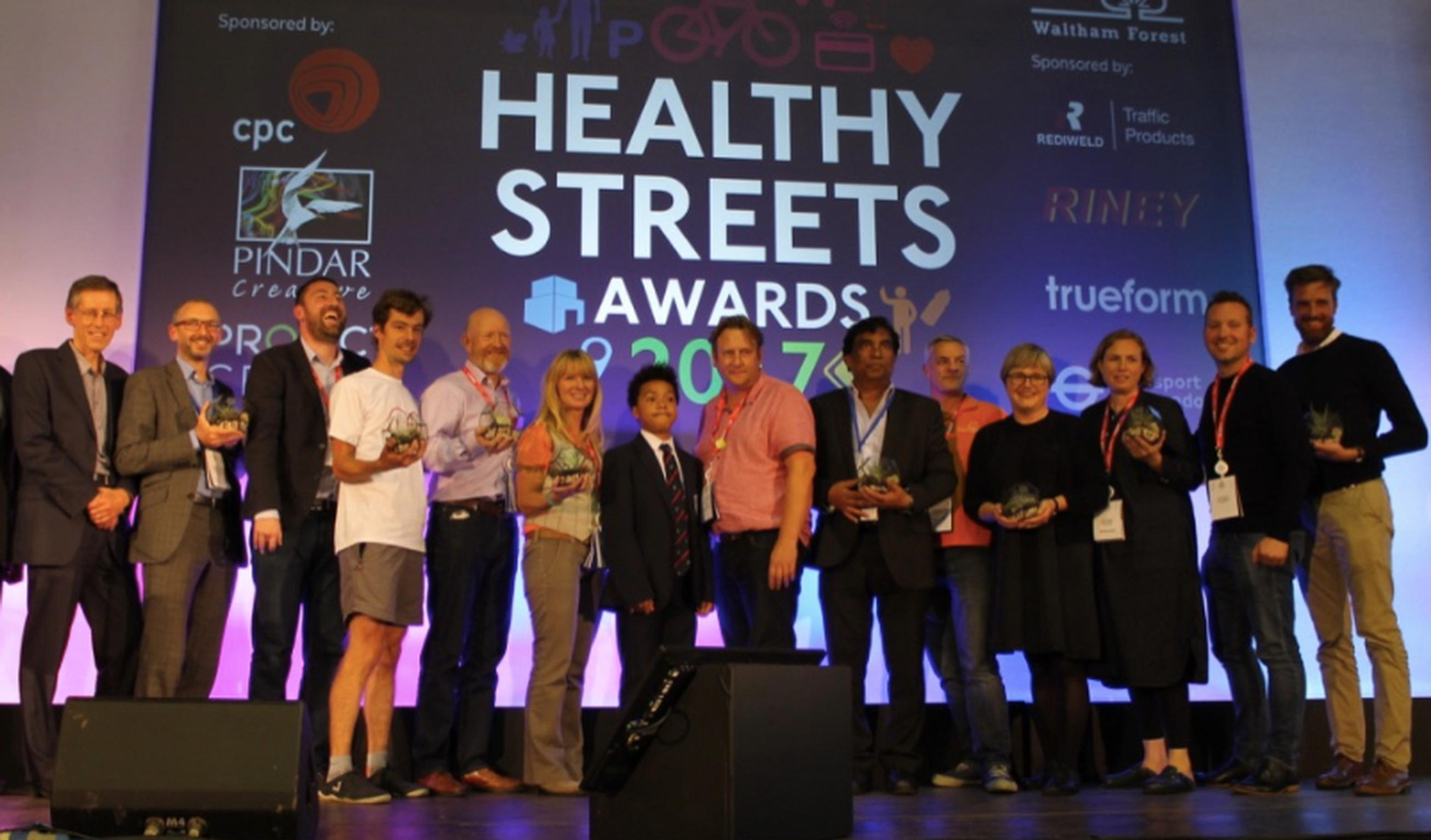 The Winners of the Healthy Streets Awards 2017