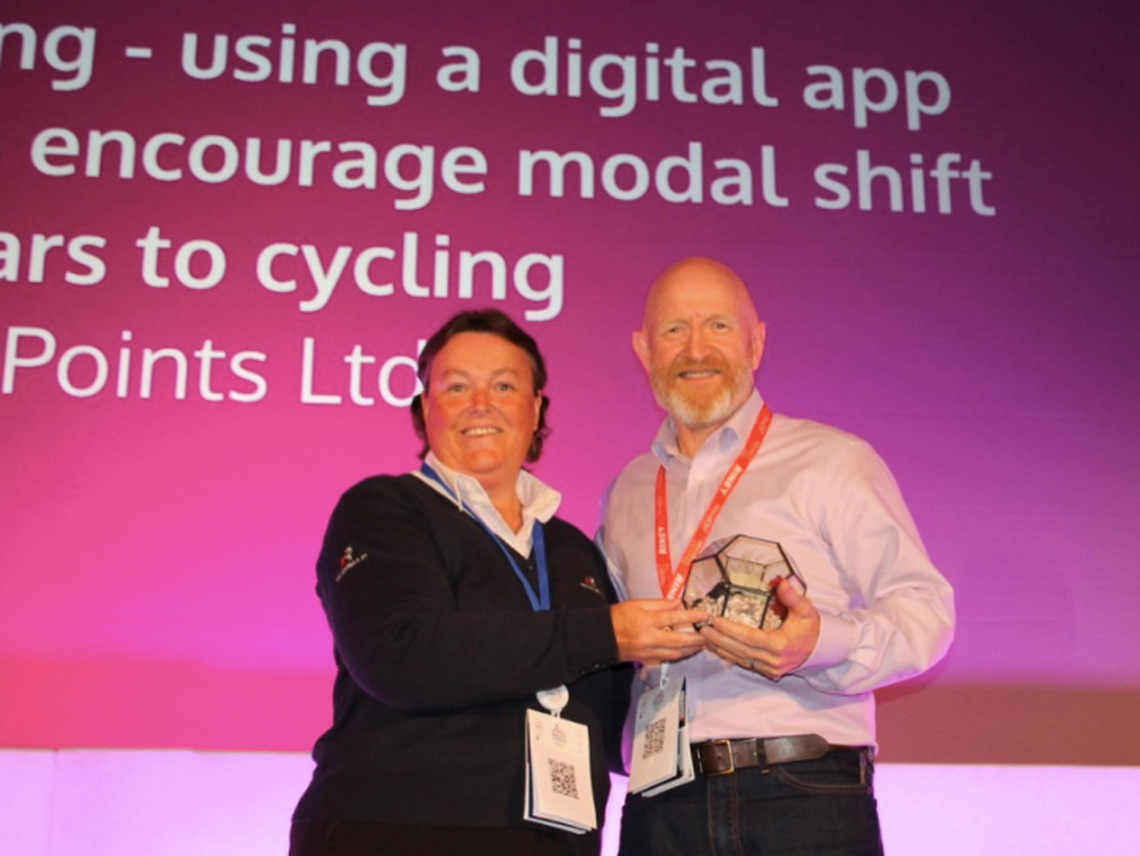 BetterPoints Ltd picked up the Best Modal Shift Award