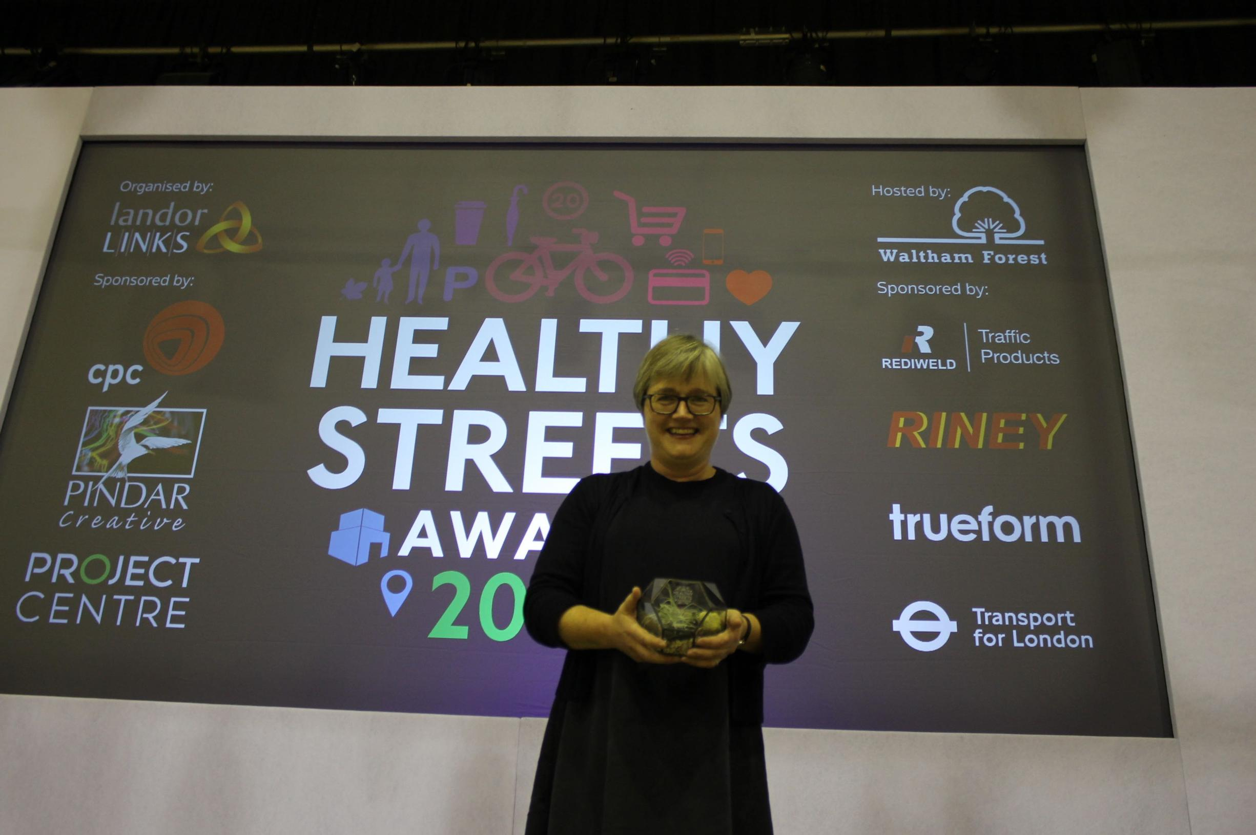 Caroline Russell: Healthy Streets Champion 2017