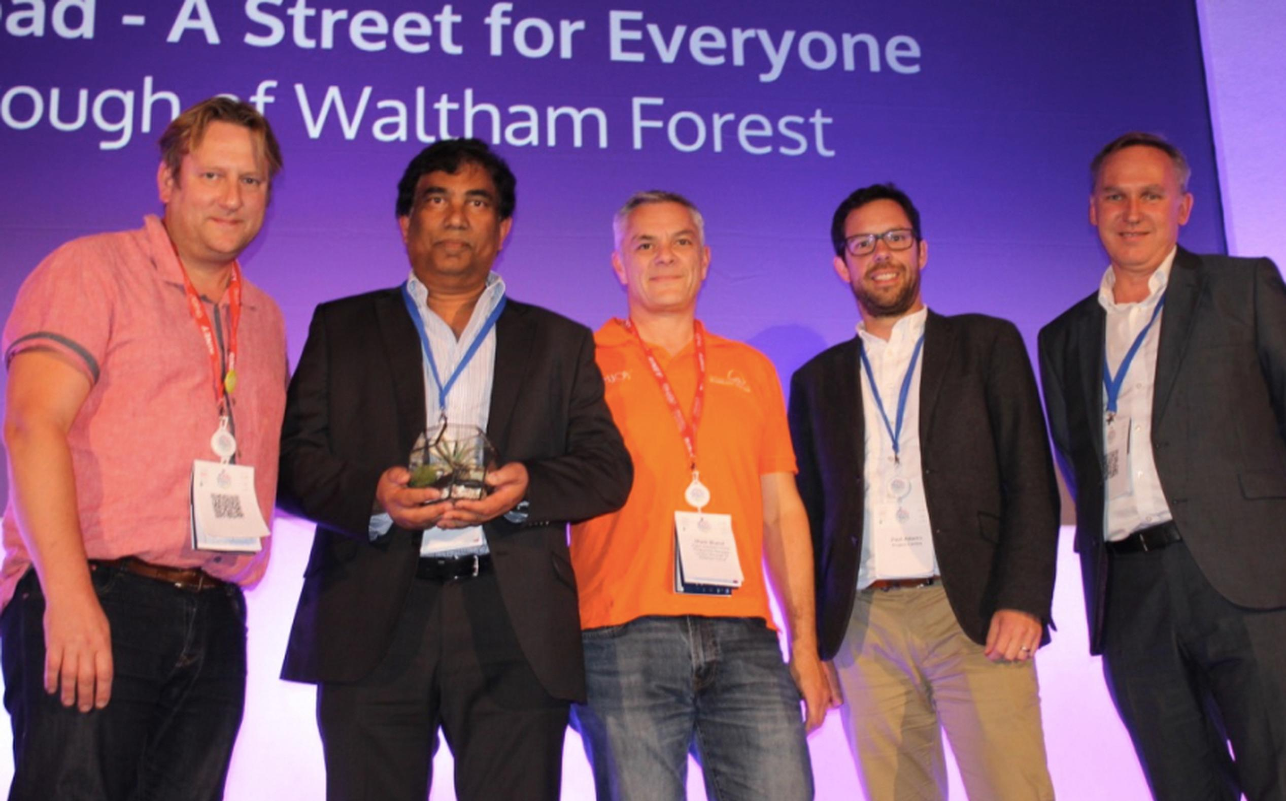 Waltham Forest won the Proposal of the Year award