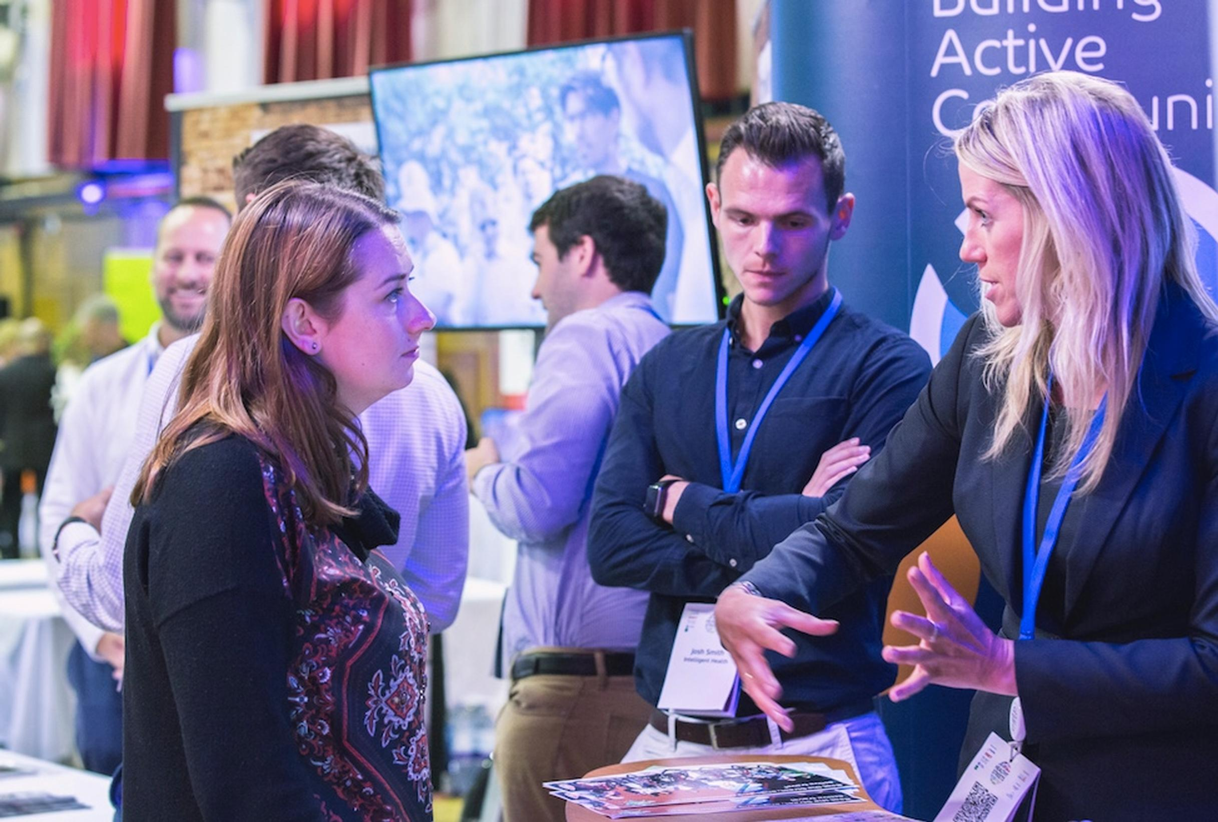 Innovations, strategies and campaigns were showcased at the Healthy Streets exhibition