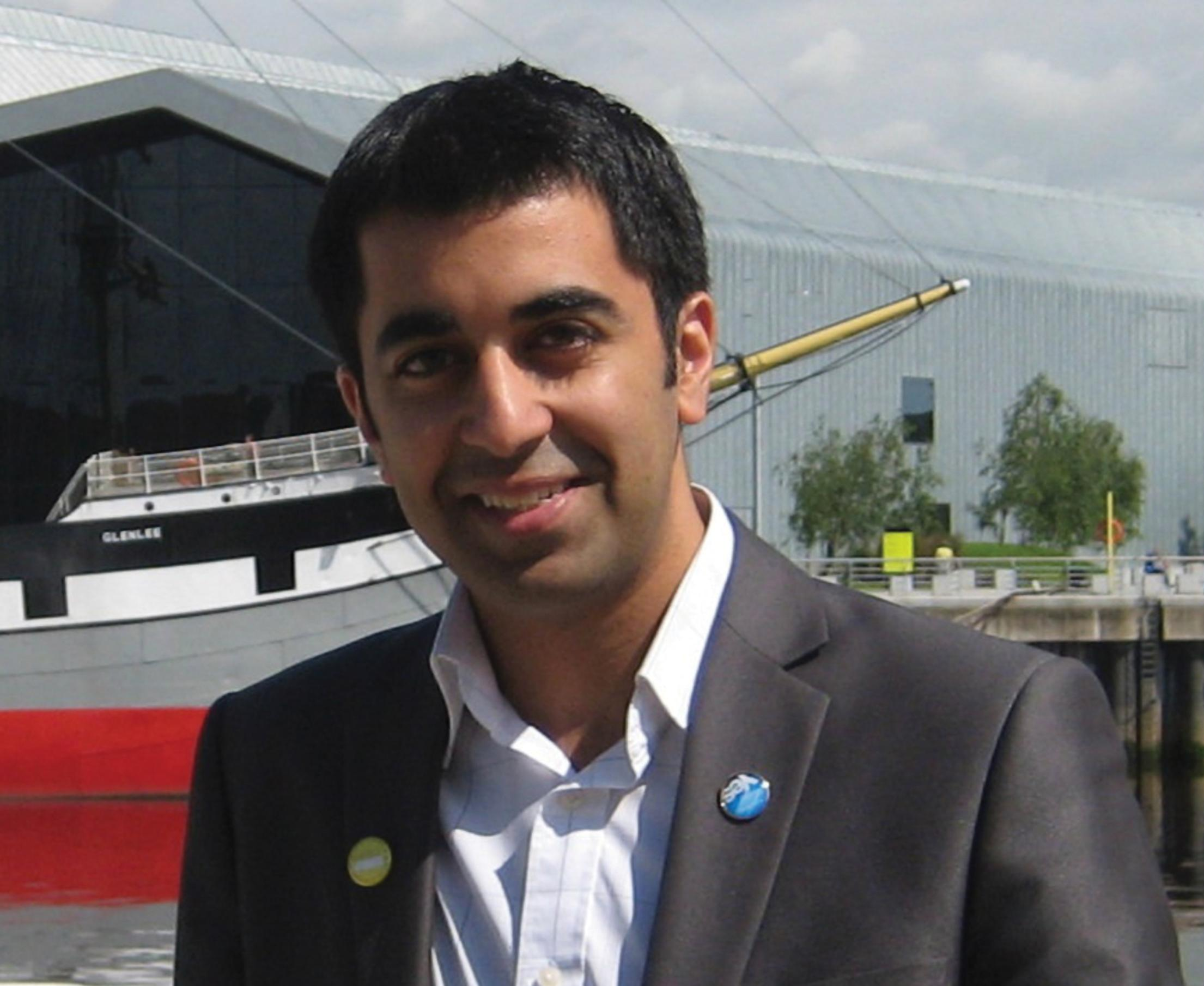 Humza Yousaf: Said he accepted criticisms over the Levenmouth scheme