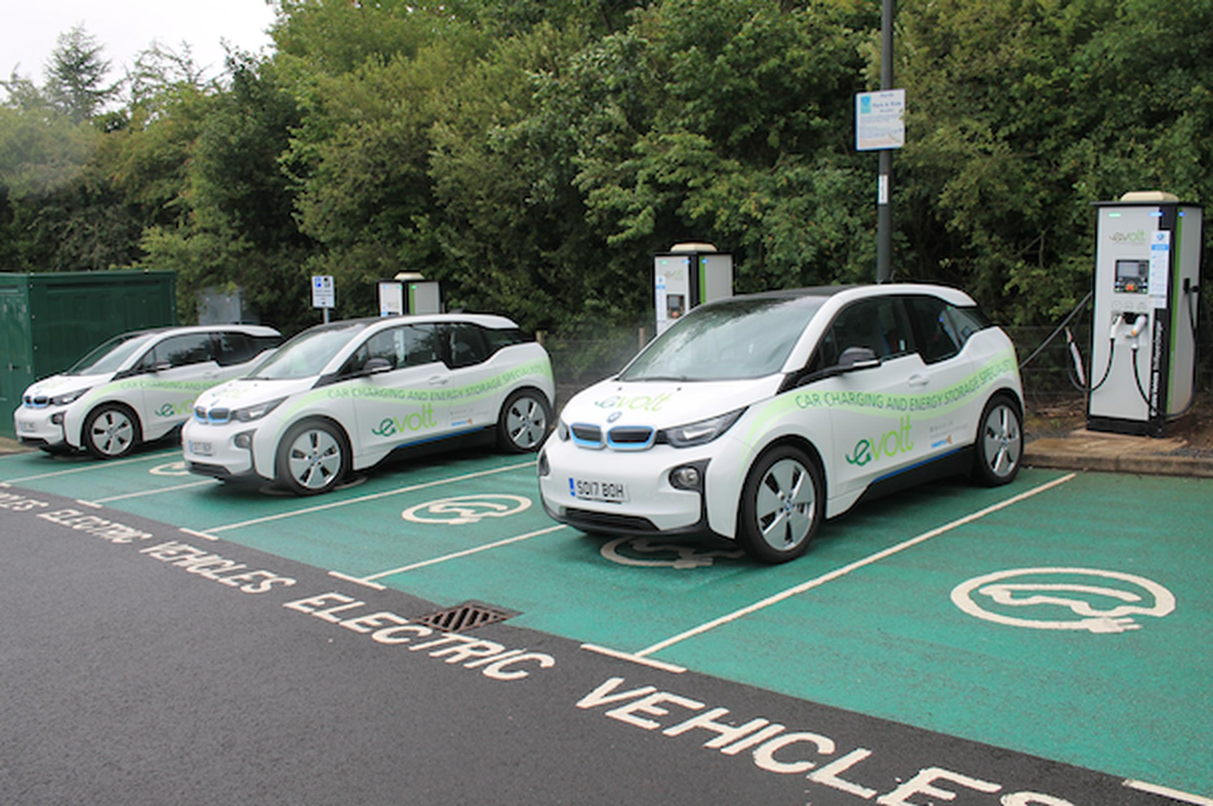 The government wants to improve the availability of EV chargepoints