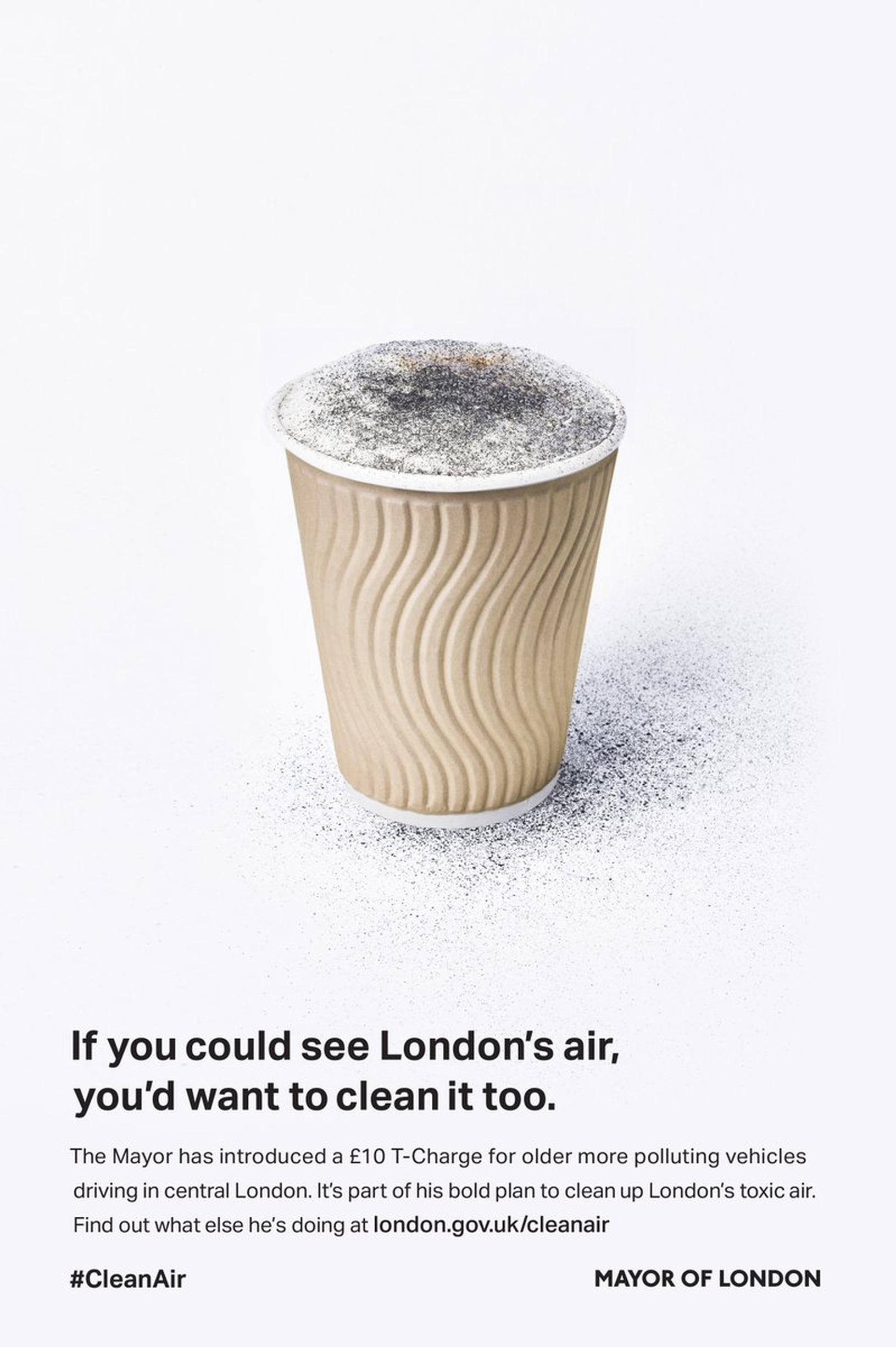 The Mayor of London has commissioned a series of adverts to raise awareness of the reasons behind introducing the Toxicity Charge