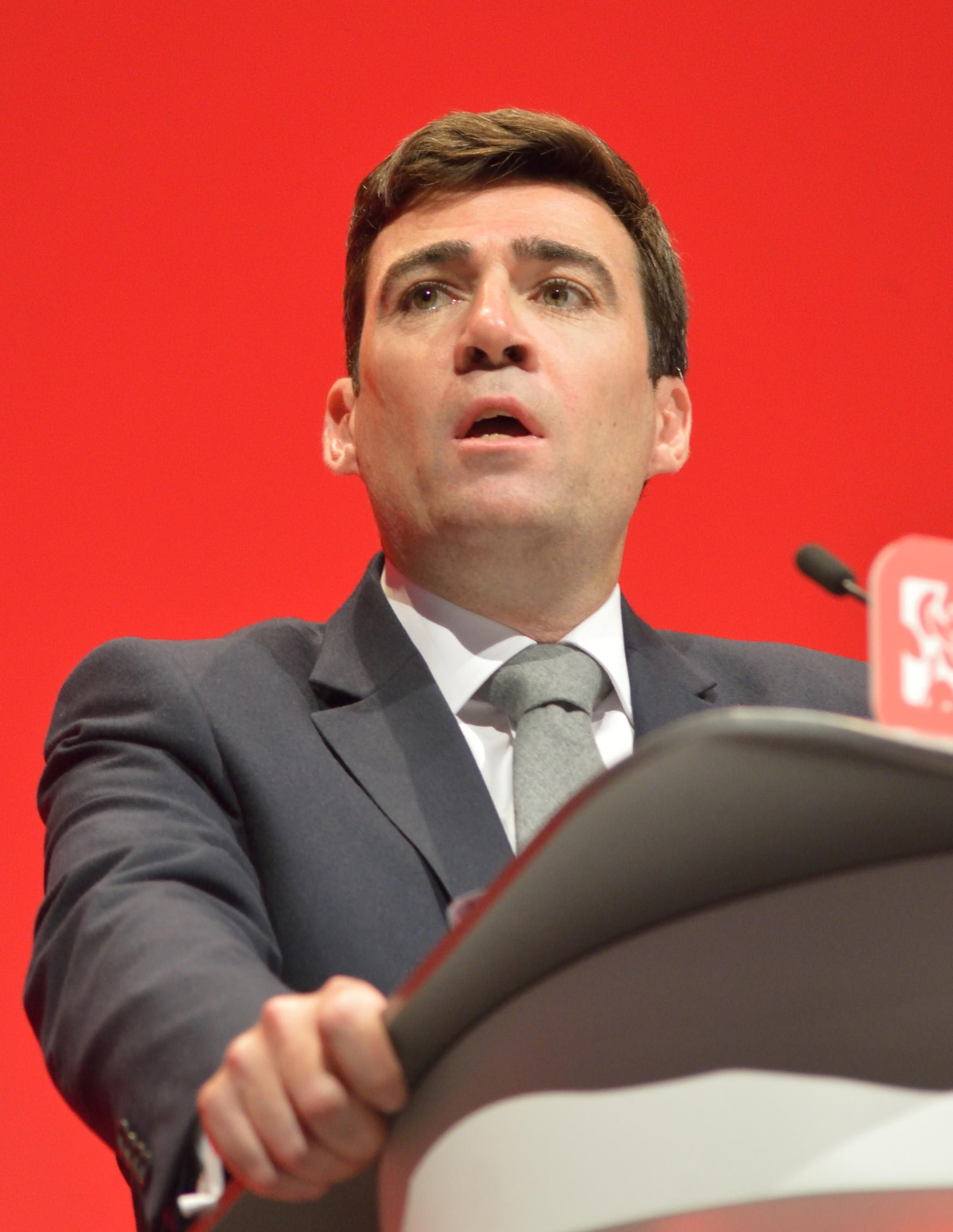 Greater Manchester Mayor, Andy Burnham