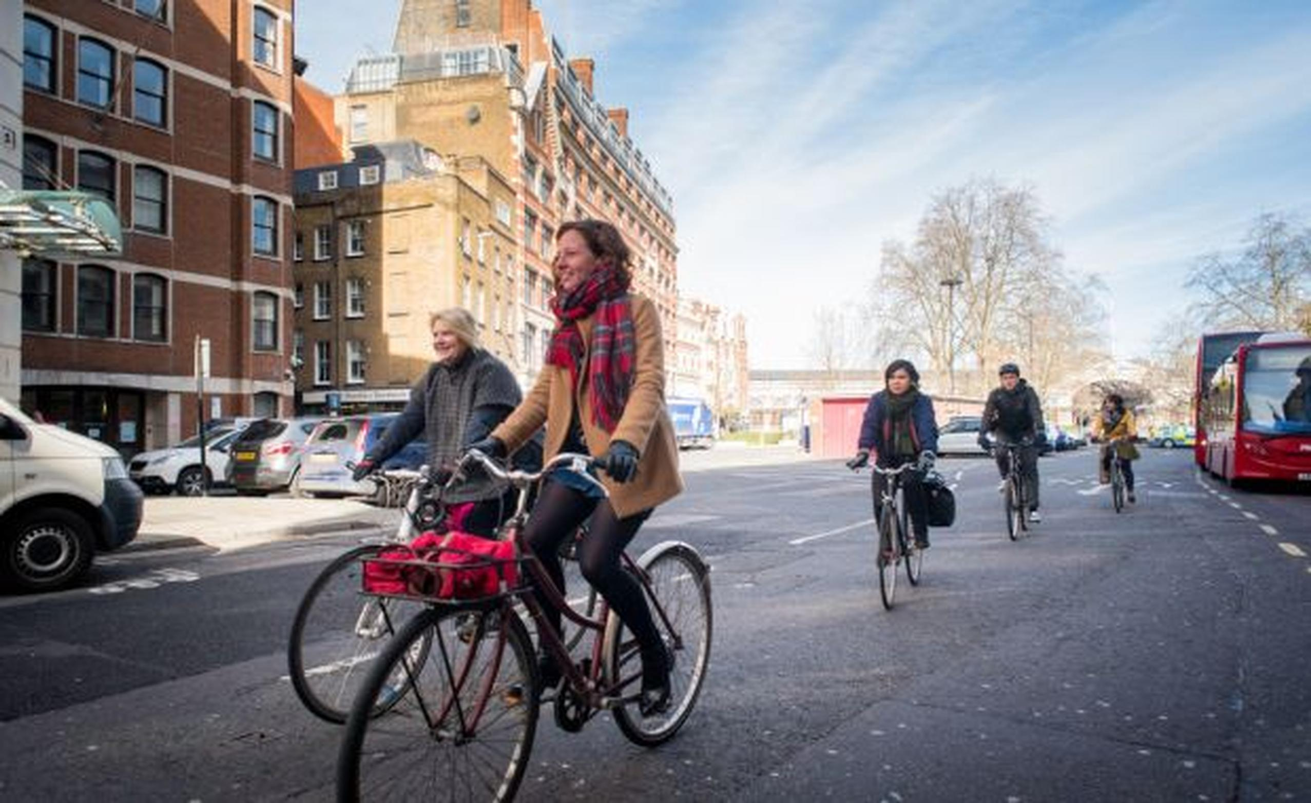 Sustrans believes walking and cycling is the best way to deliver better urban air quality