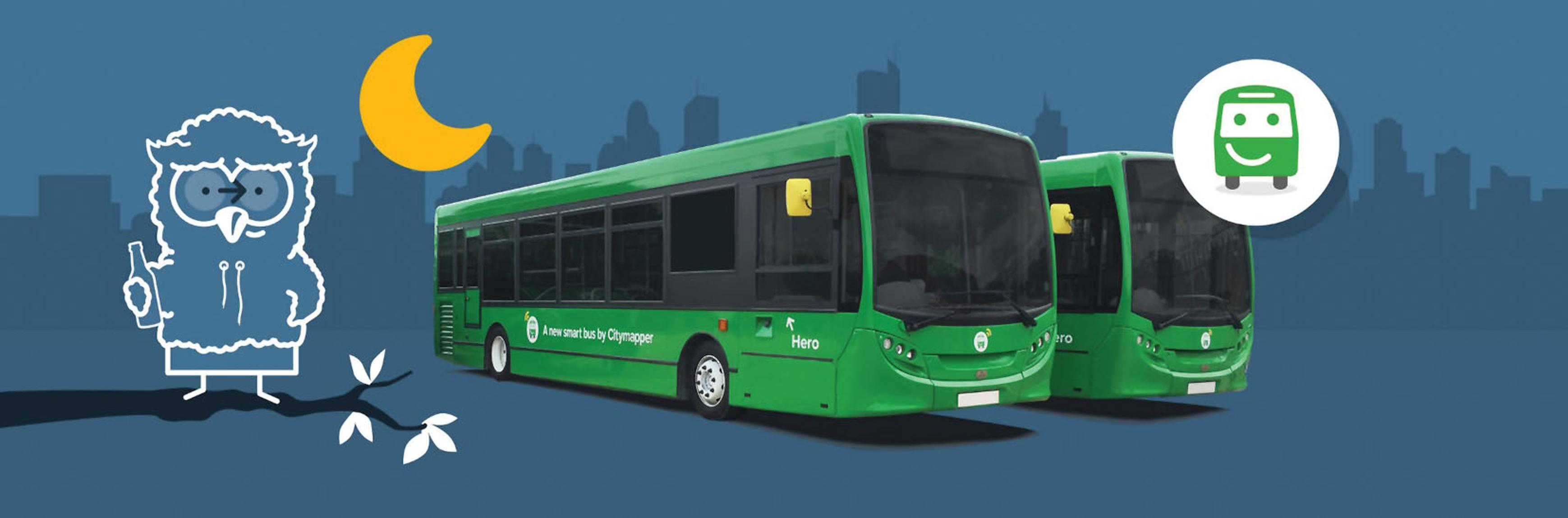 Citymapper's night bus route in east London is operating using a London Service Permit. TfL is reviewing if the LSP system is appropriate for new types of bus service