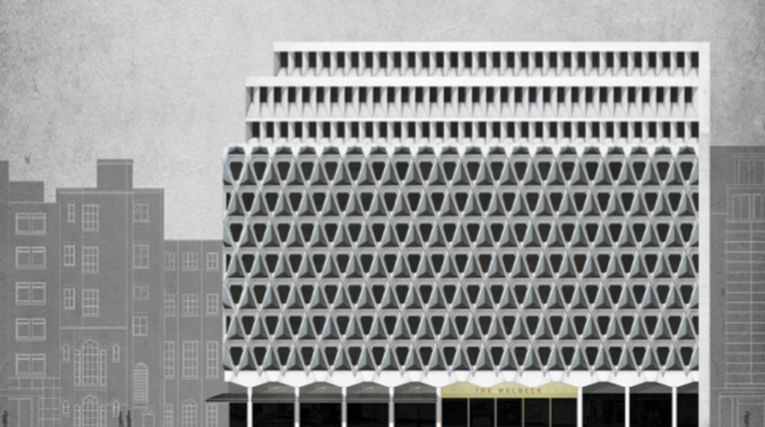JAA thinks the car park`s concrete façade can be retained as part of a hotel development