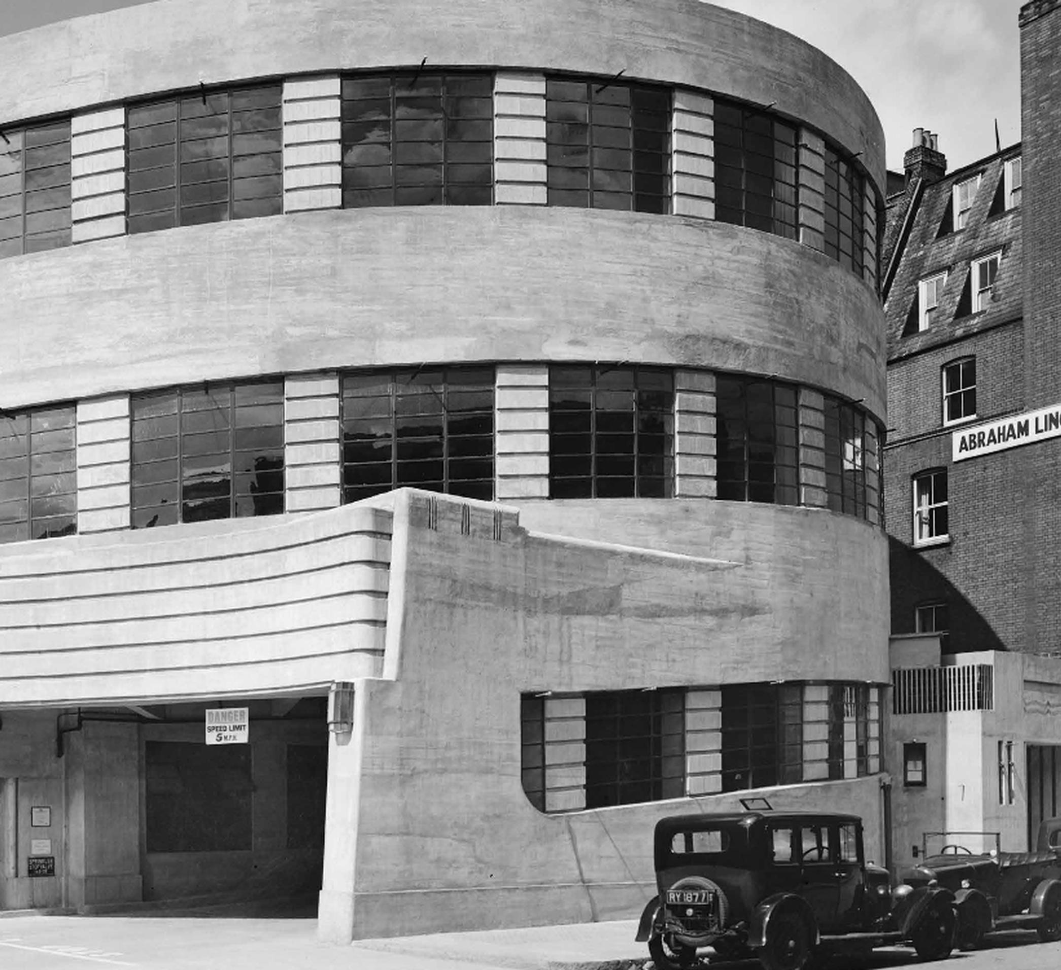 Deco elegance: The Daimler Garage on Herbrand Street, London, is one of the best-known modernist buildings in central London (1931-33; Wallis Gilbert & Partners). It was one of the first garages to be listed, at Grade II.