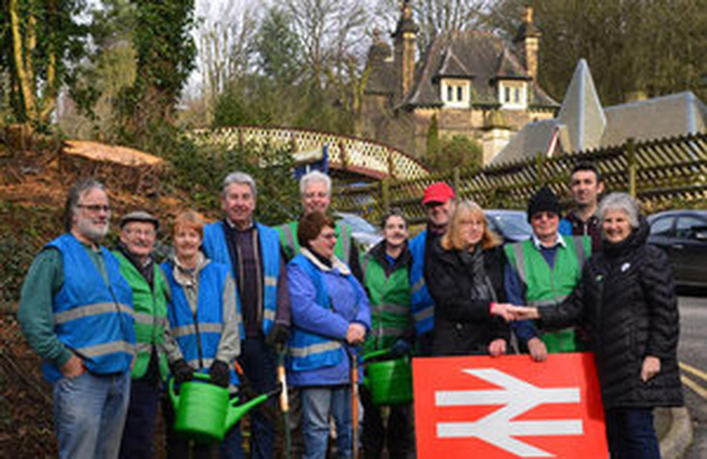 Cromford Community Rail is one of and 60 partnerships