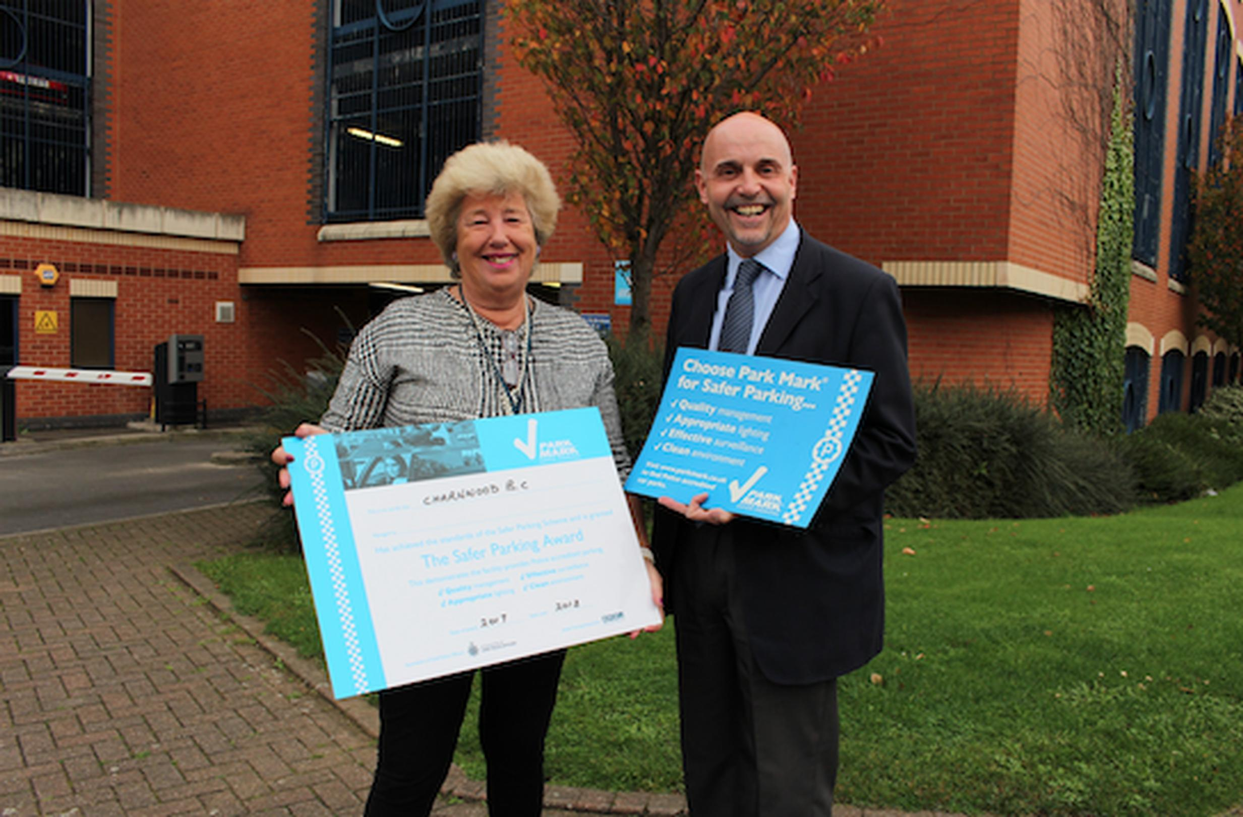 Loughborough council sites receive safer parking and disabled parking awards