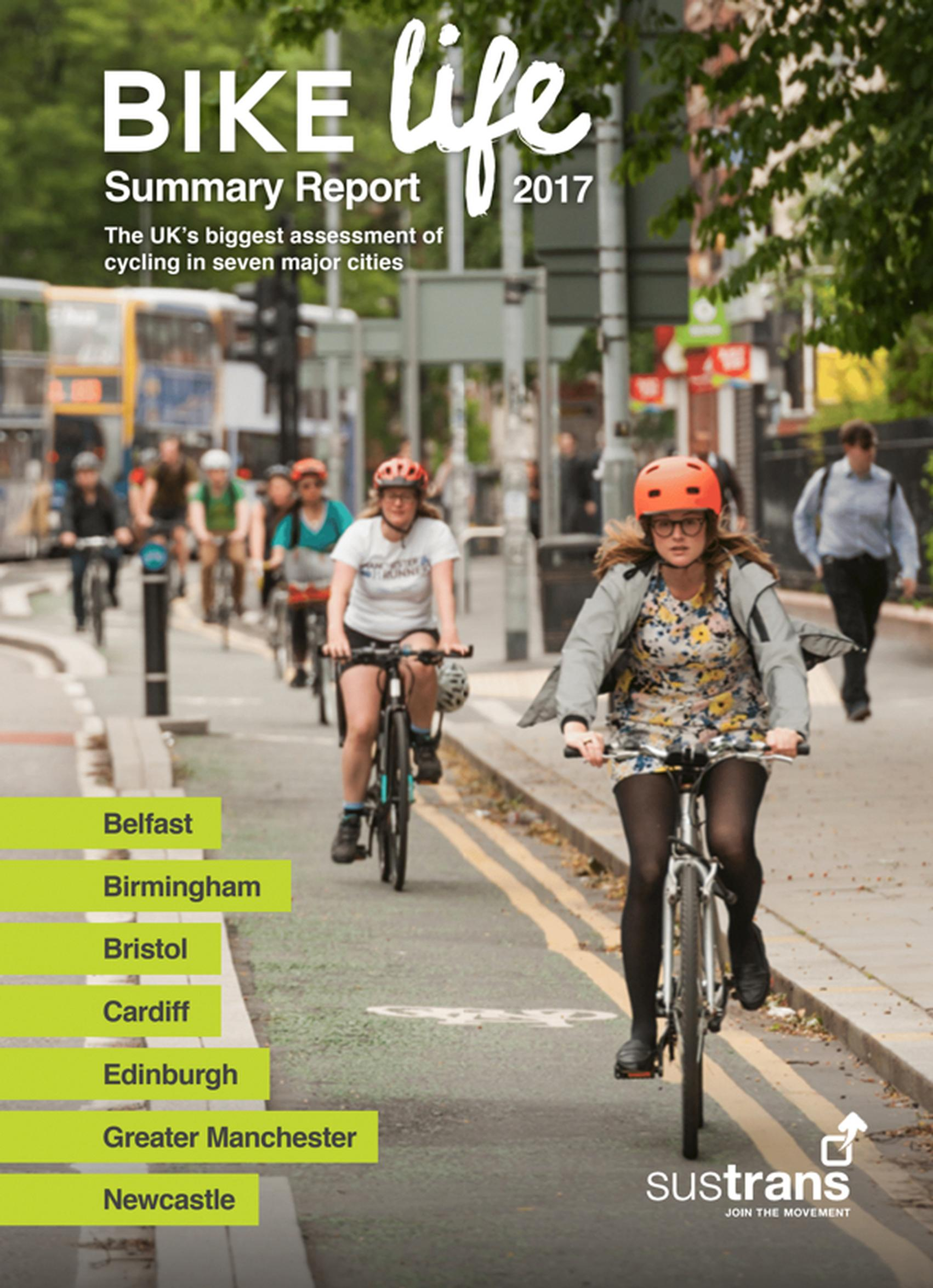 Strong support for more investment in cycling, Bike Life reports show