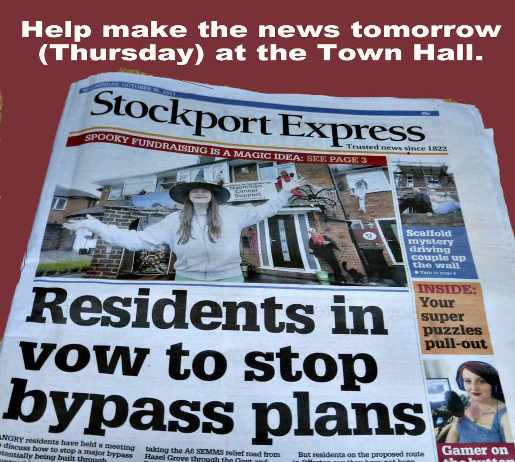 Stockport deliberates on A6-M60 relief road