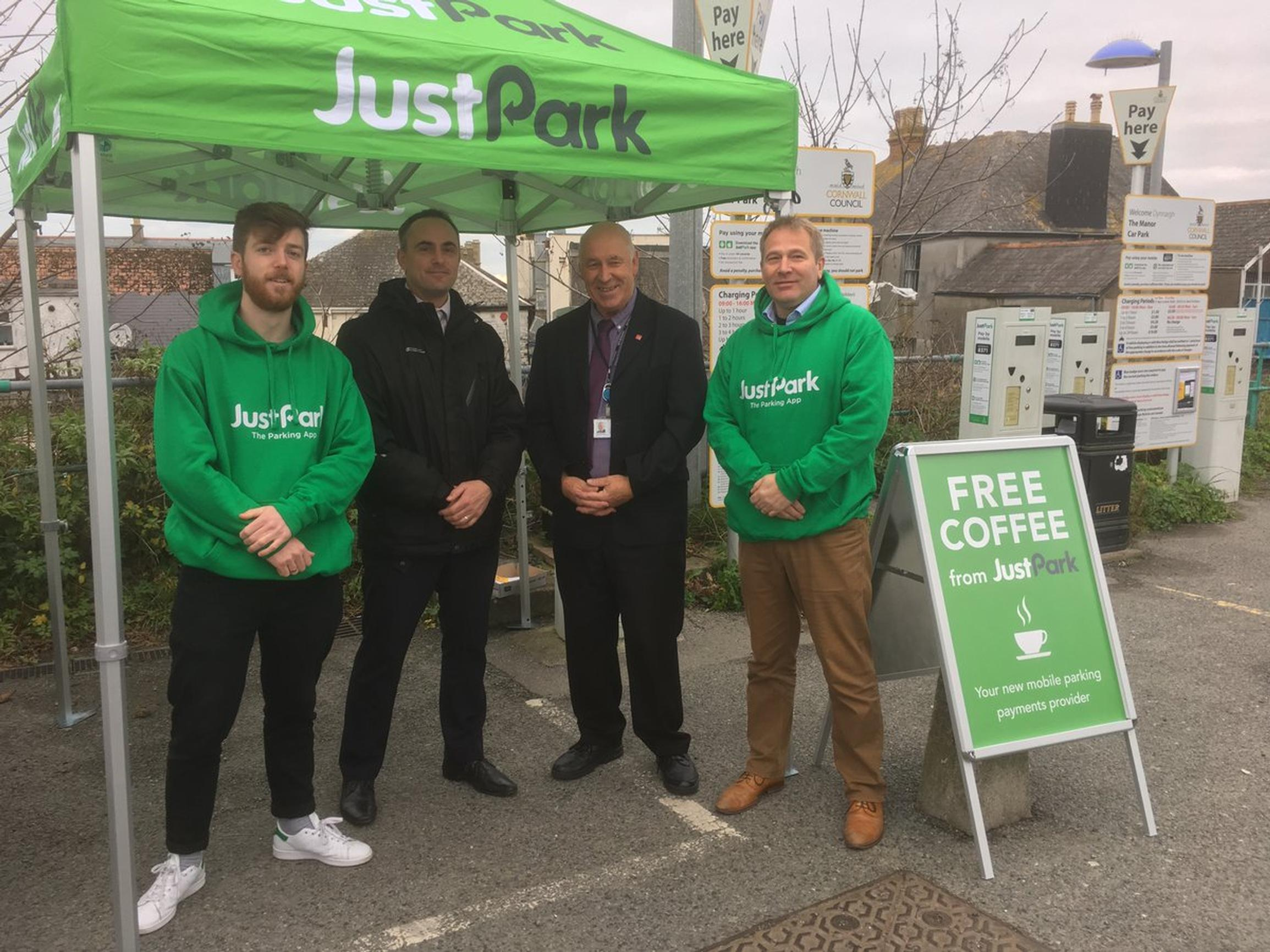 Cornwall Council switches to JustPark