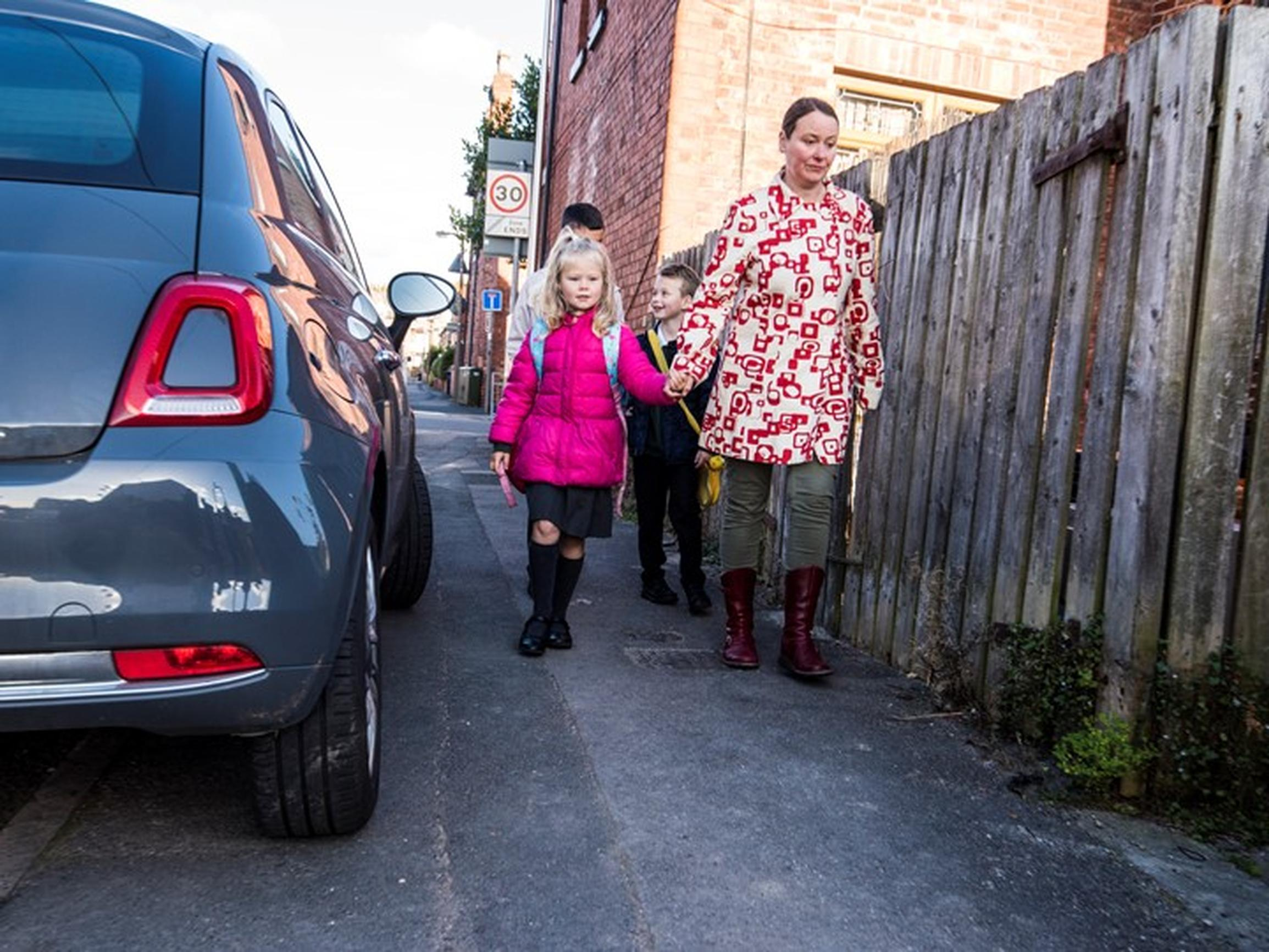 Pavement parking poses a particular risk to people living with sight loss, those with mobility issues, children and parent with buggies