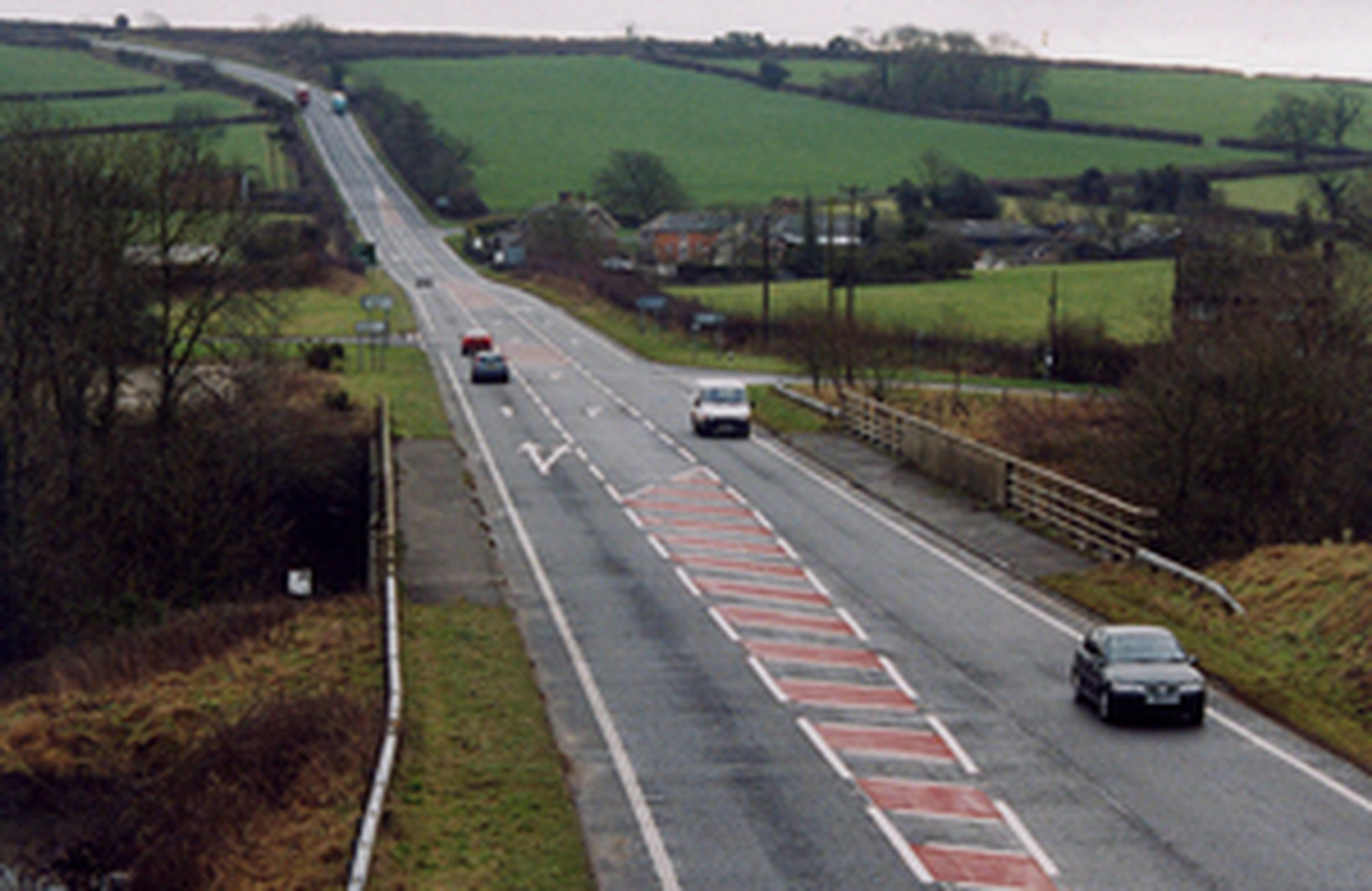 Investment will be made in bypasses, road widening and junction improvements
