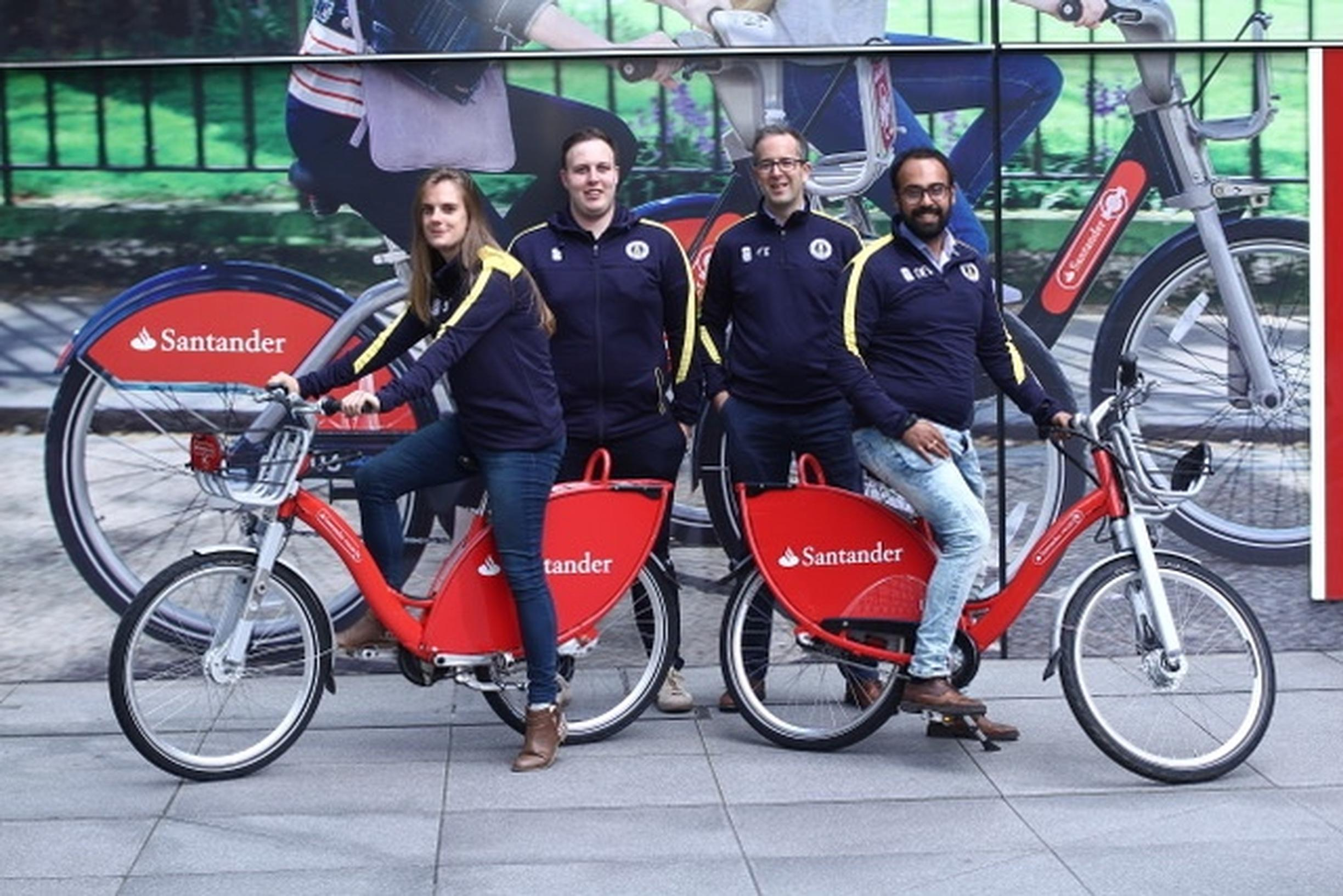 Brunel London which, along with Swansea, came top out of 23 universities that entered Santander`s cycle hire scheme competition