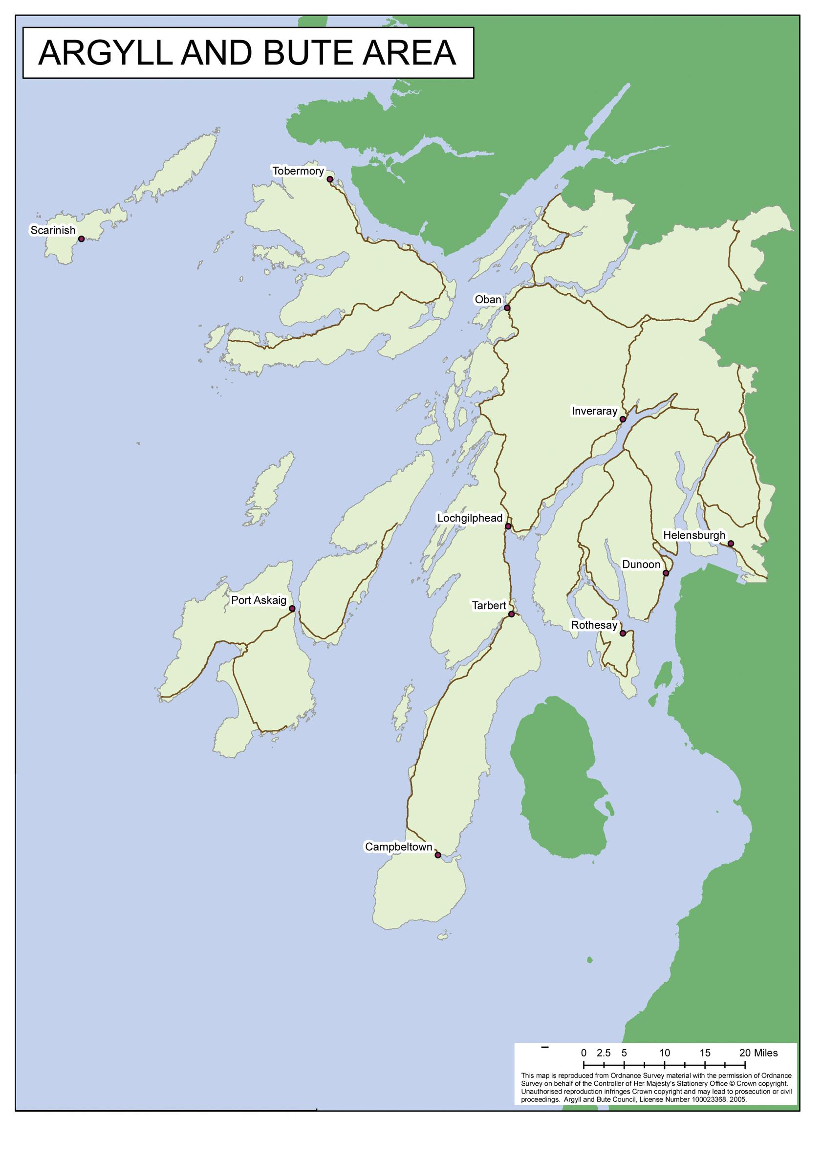 Interest grows in tunnels to improve access to Argyll & Bute
