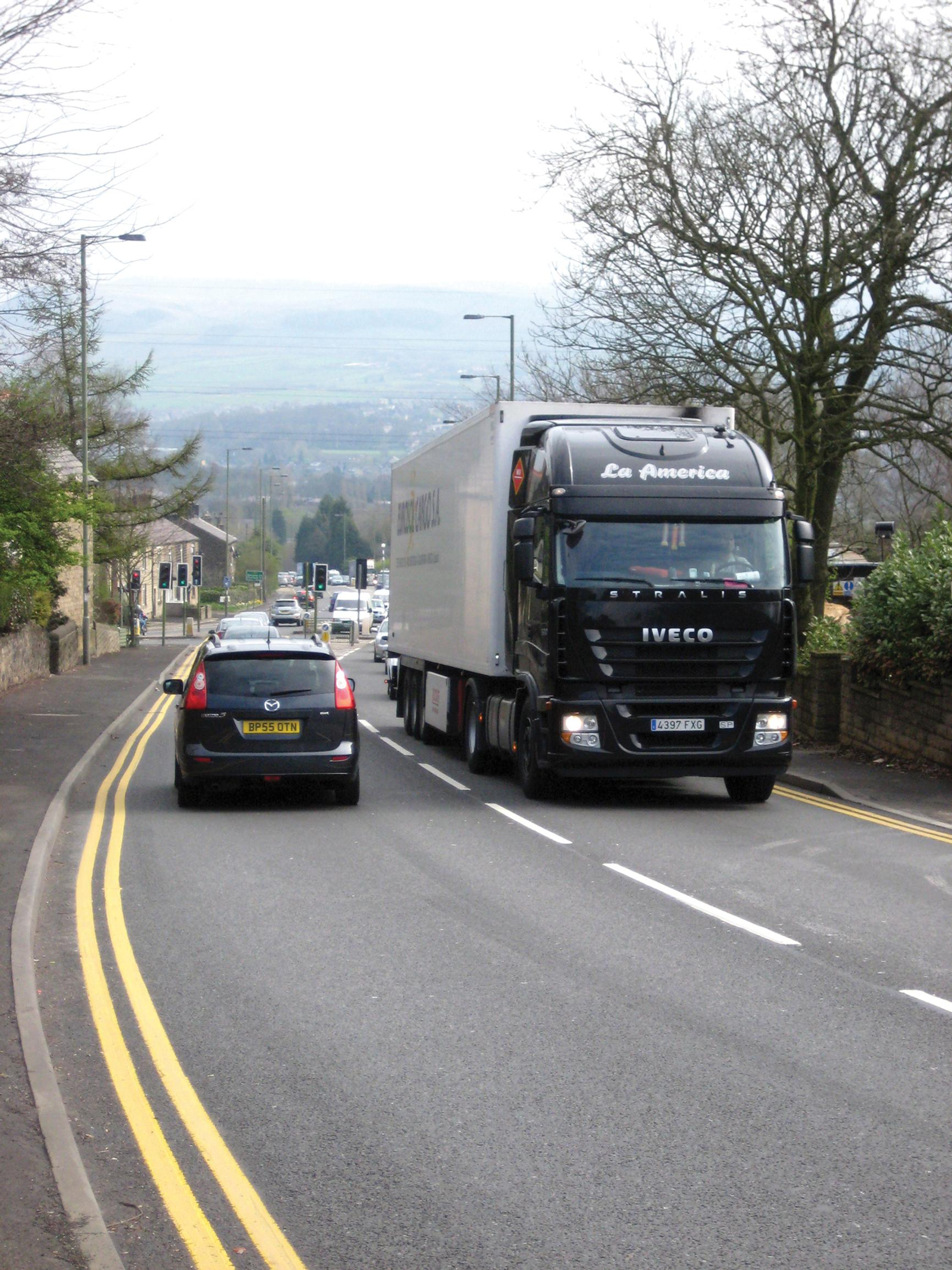Lorry platoons are one area of interest