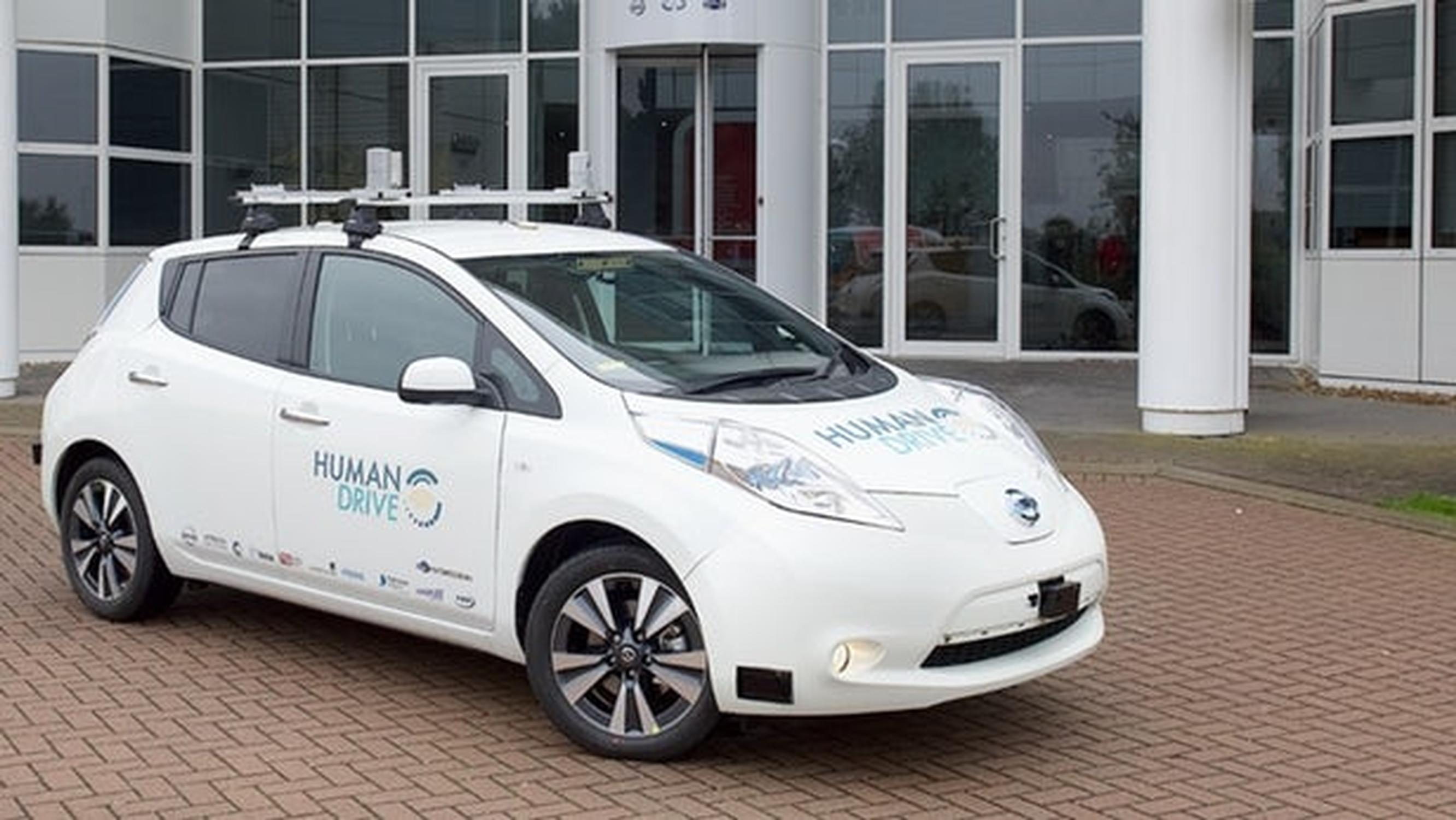 Autonomous car project seeks to emulate natural human driving