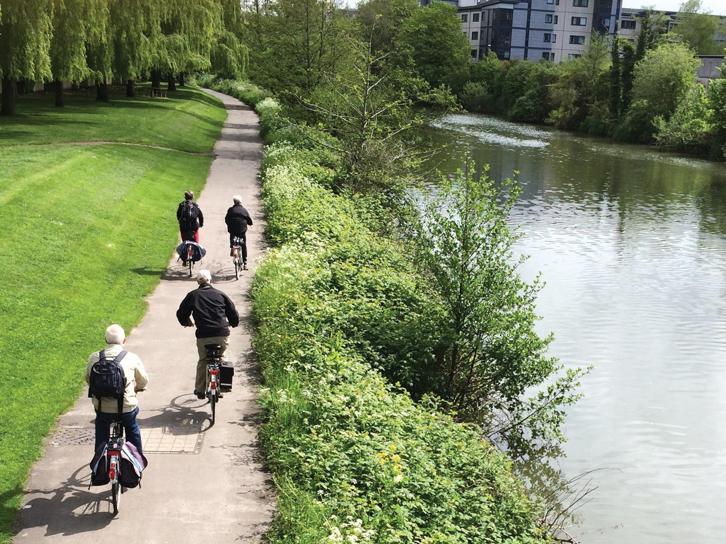 Iconic cycle path 'under threat from light rail'