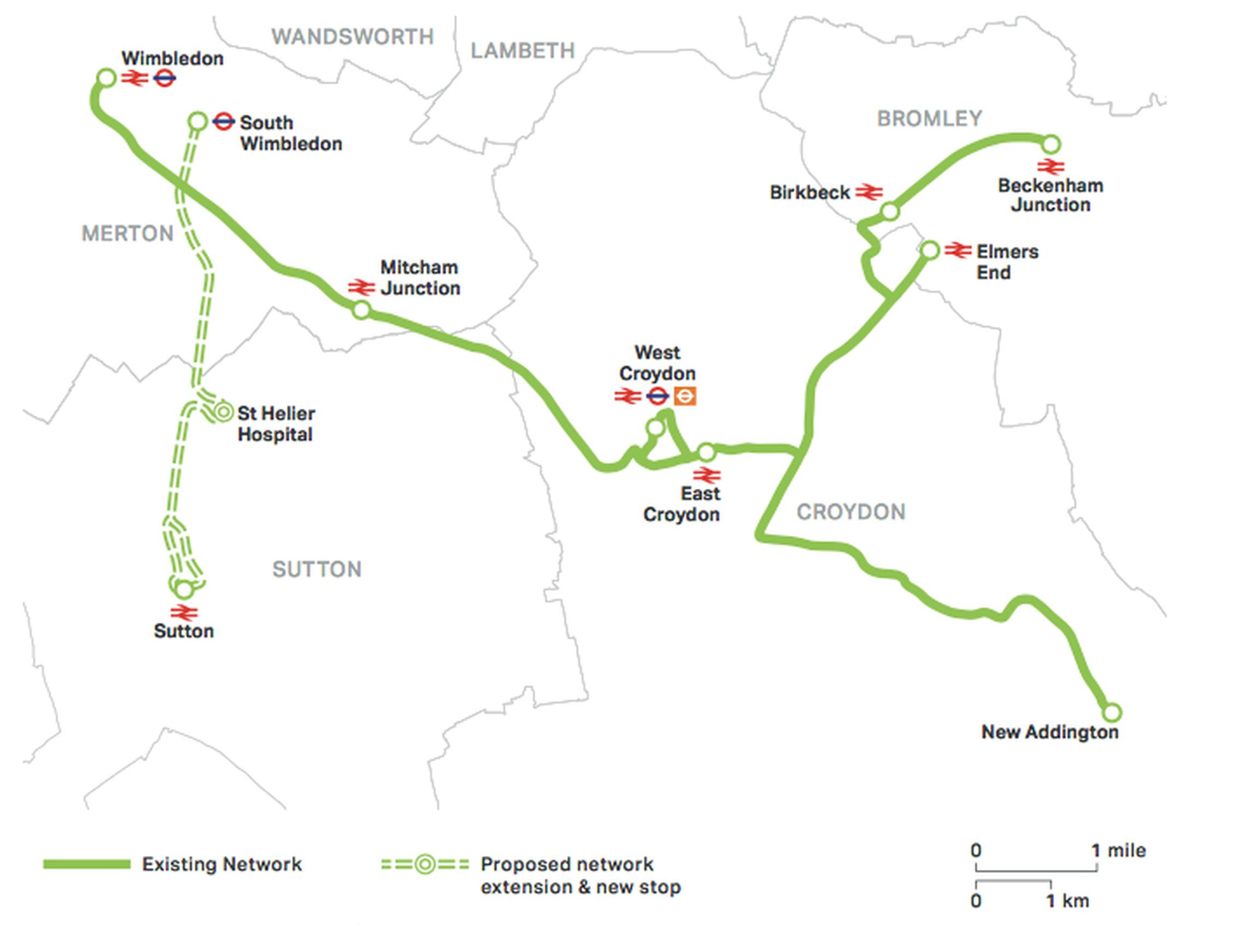 West London Orbital Line features in mayors transport strat
