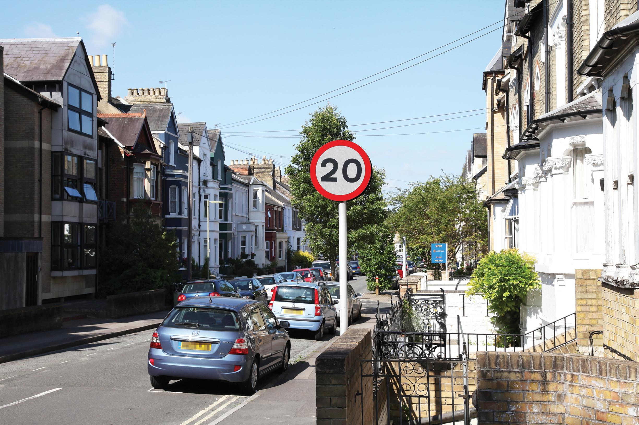 A?20mph limit will reduce driver confusion, says Richmond