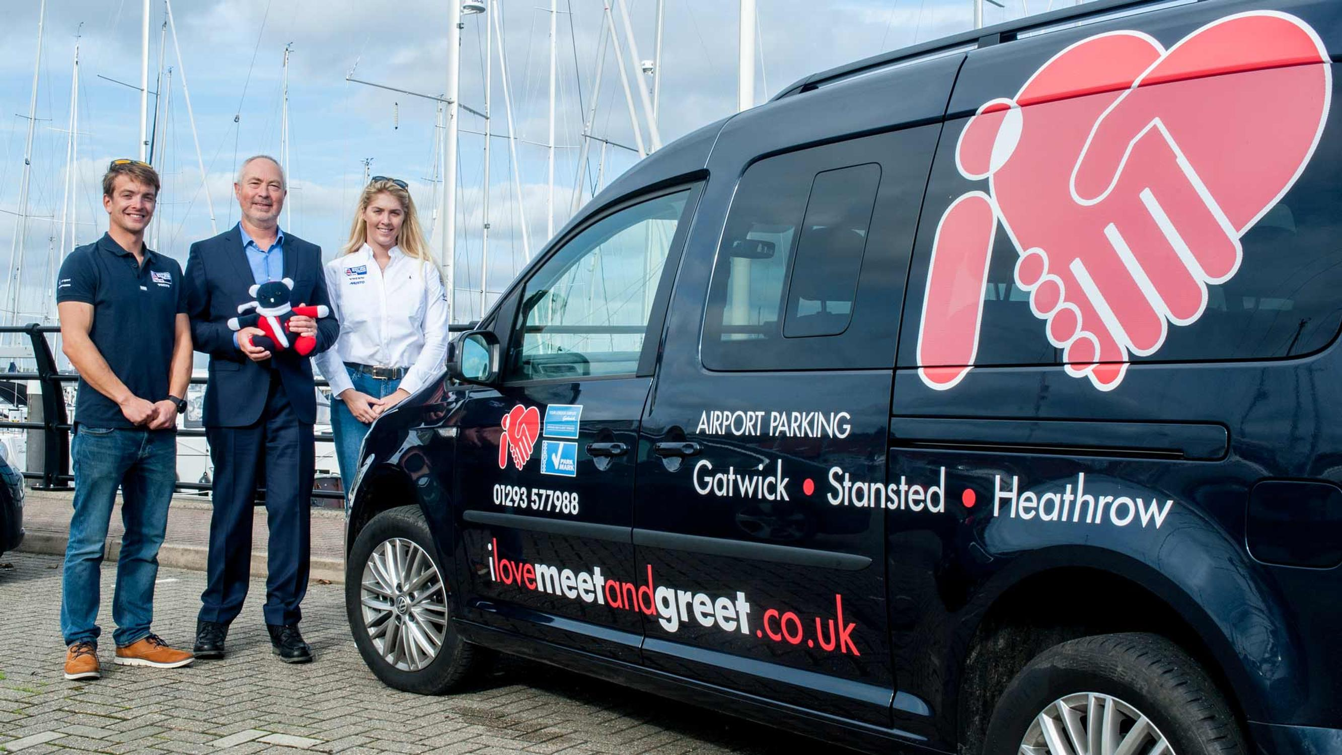 Airport Parking Firm Sponsors Sailing Team