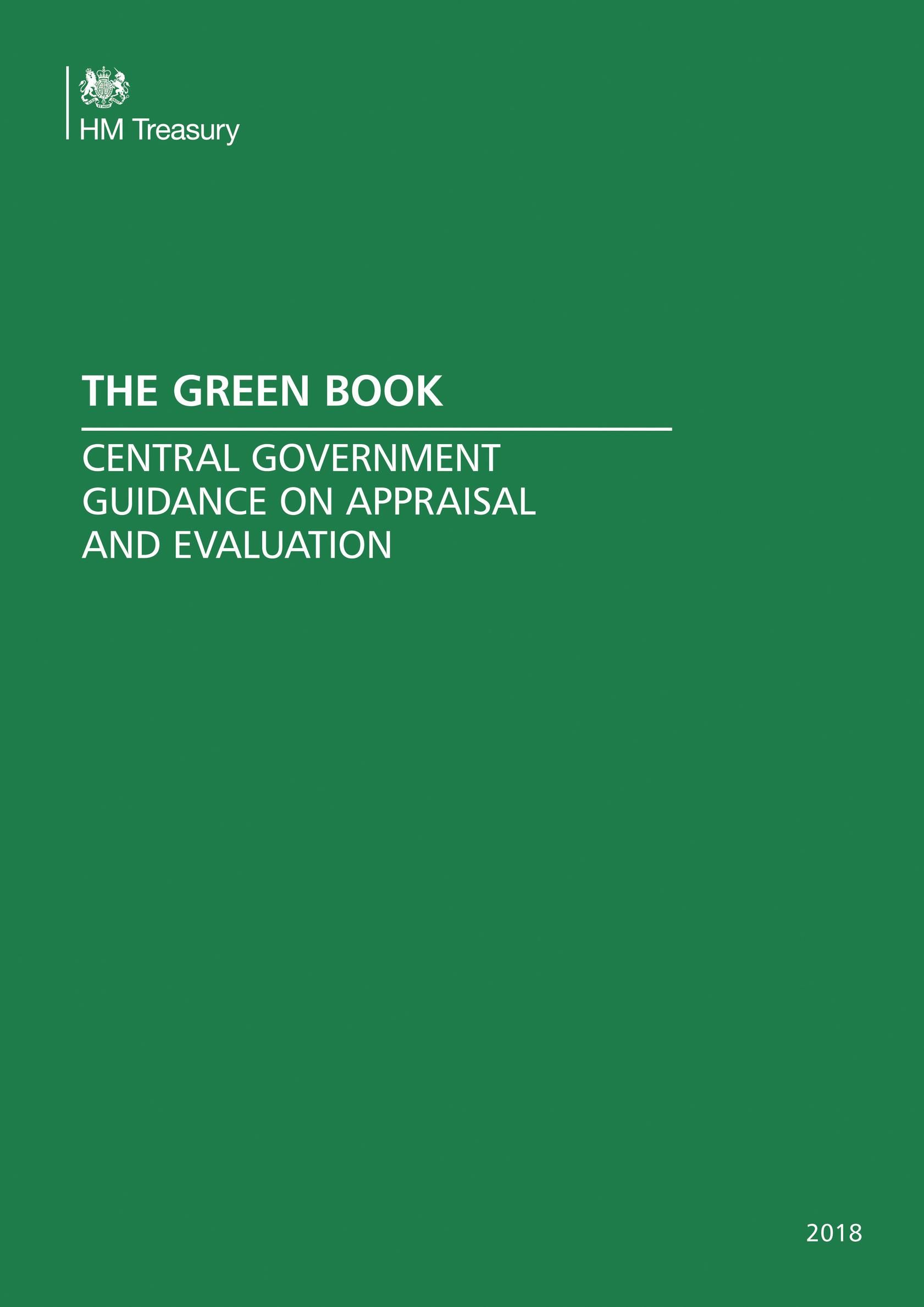 Treasury's new Green Book 'will prompt WebTAG changes'