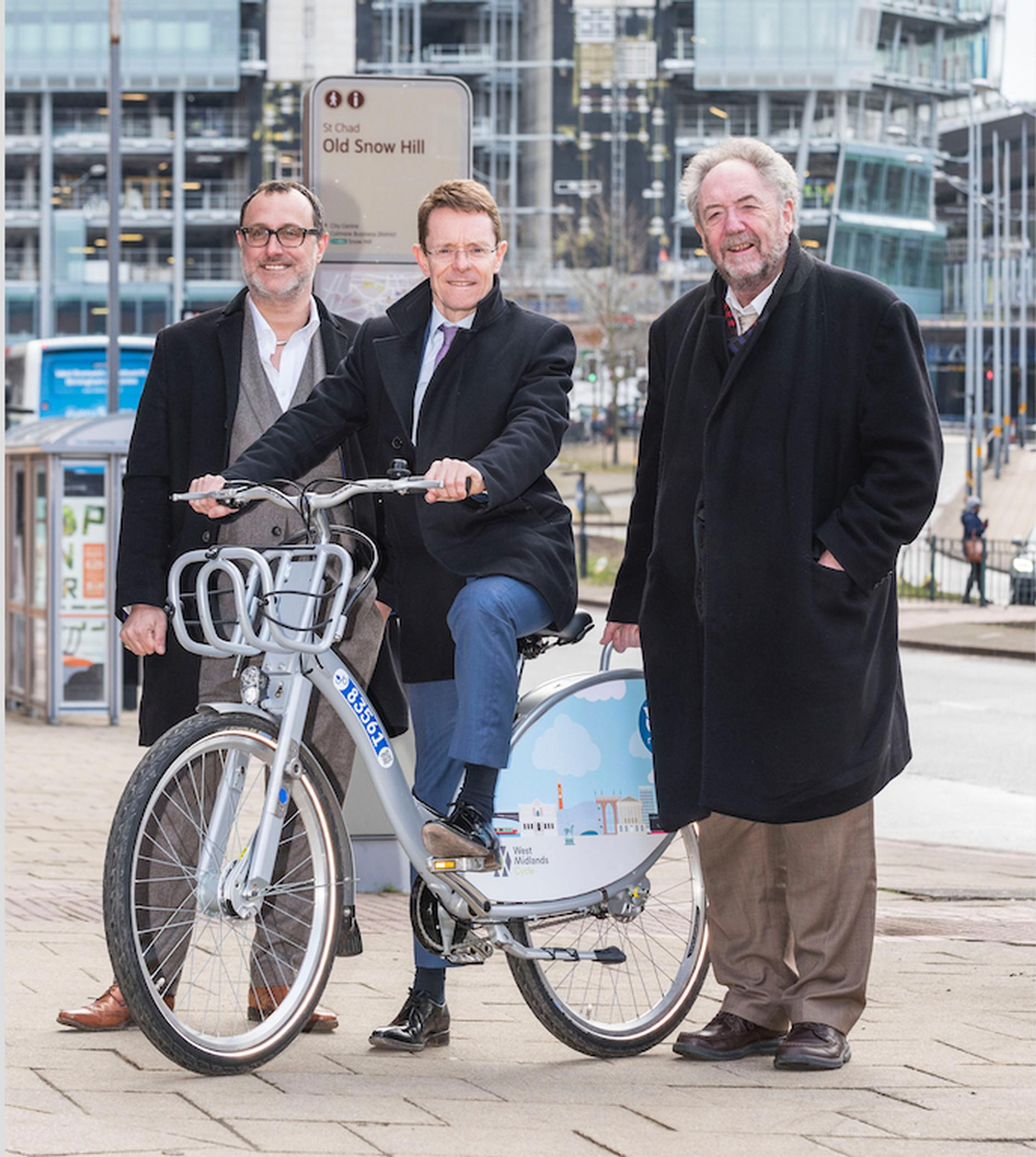 Docked bike-hire scheme to be rolled out across the West Midlands