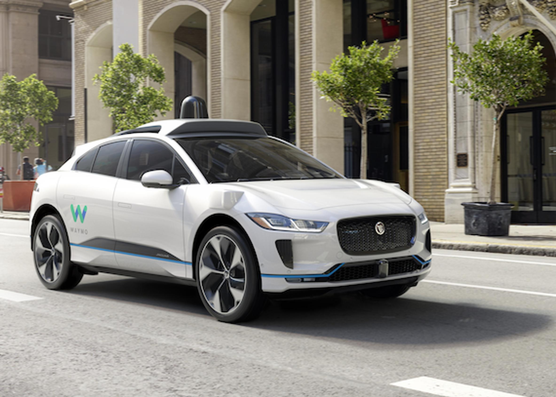 Waymo to use Jaguar Land Rover electric iPACEs for driverless vehicle service