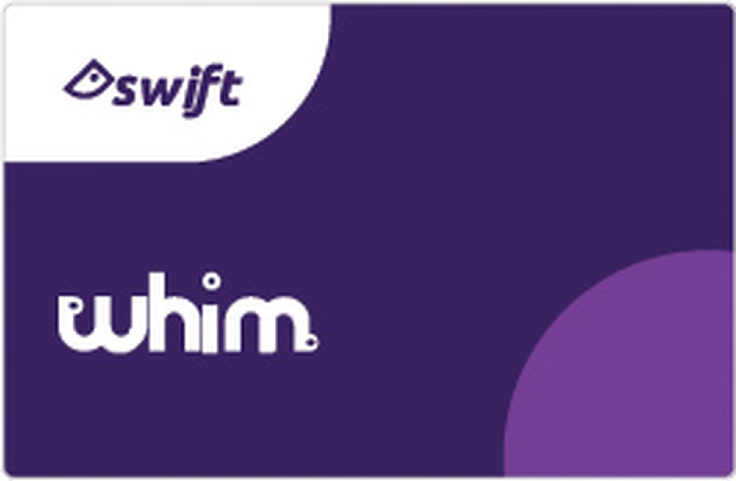 Whim subscribers will receive a Swift smartcard for use on public transport and bike hire