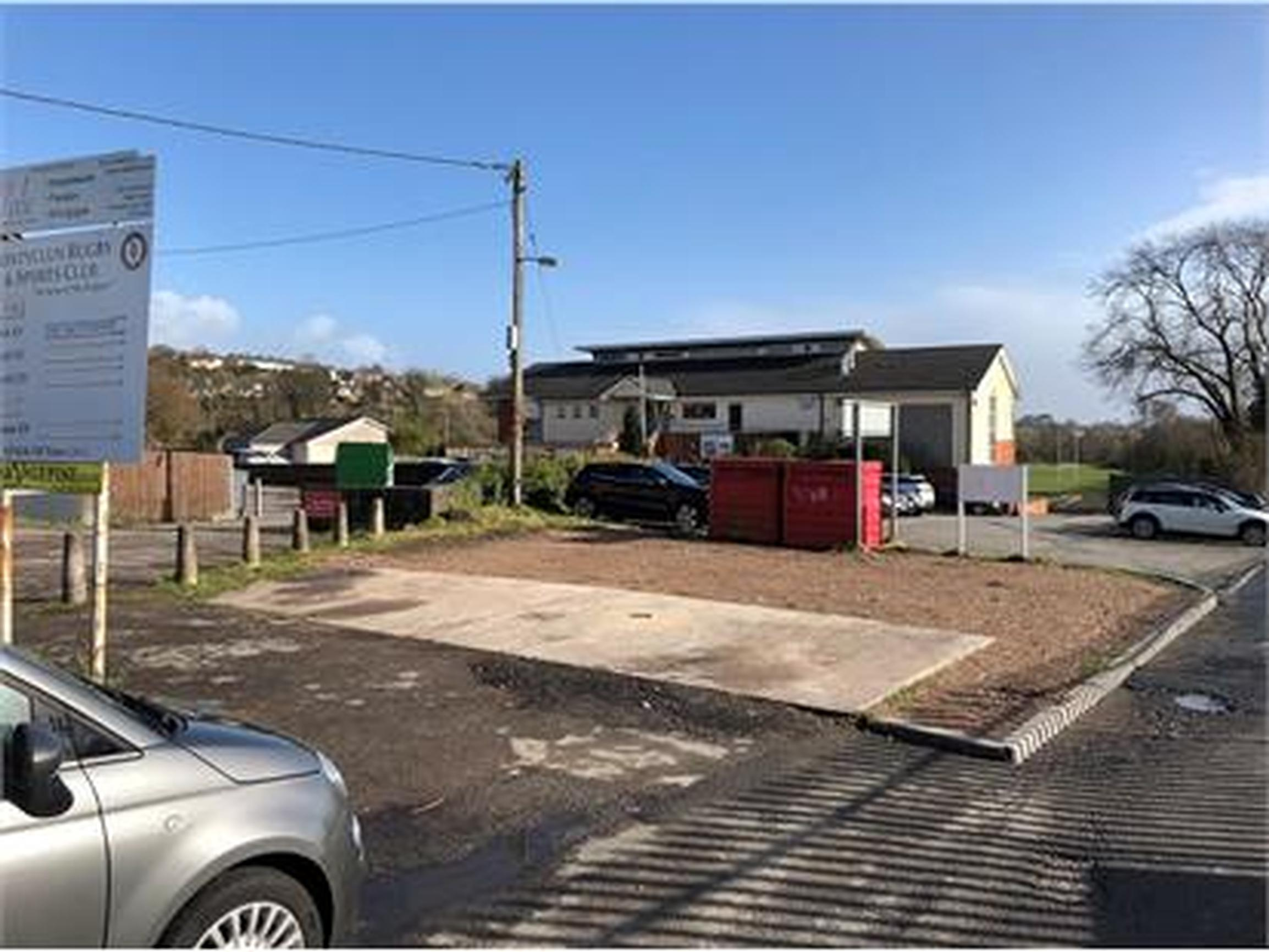 Welsh community rugby club parking upgraded
