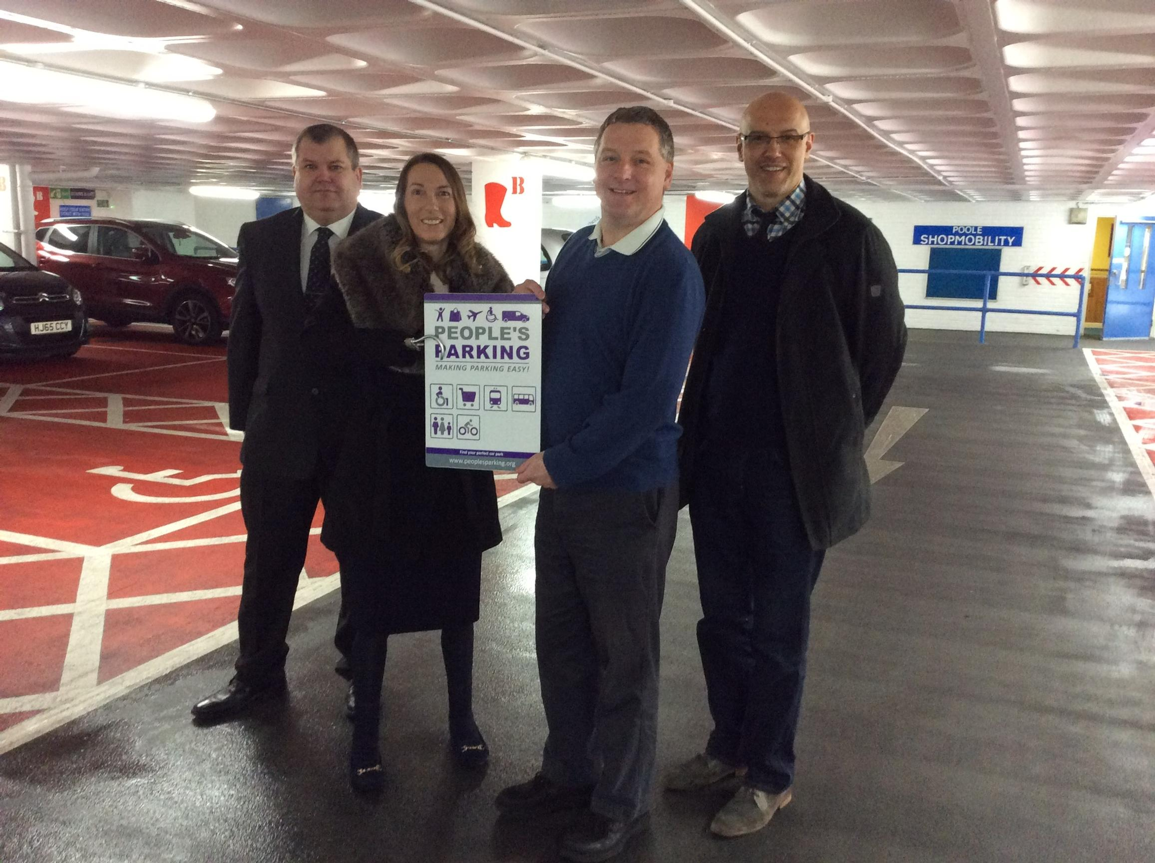 Dolphin rewards the Dolphin centre with People's Parking status