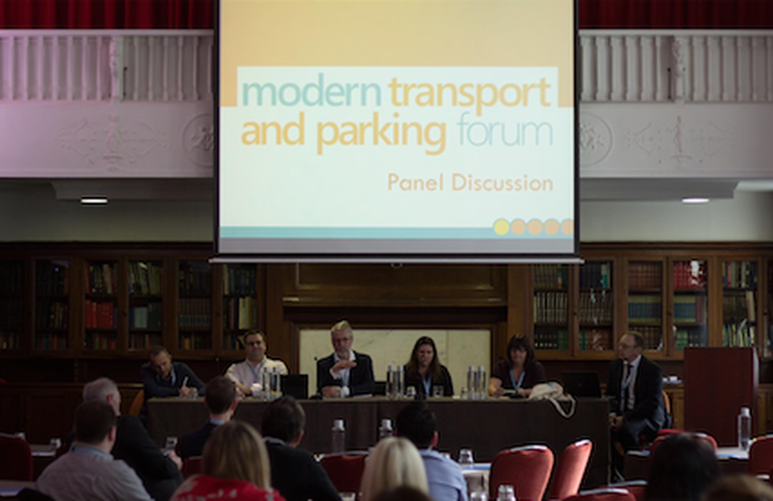 Chipside users launch  Modern Transport and Parking Forum