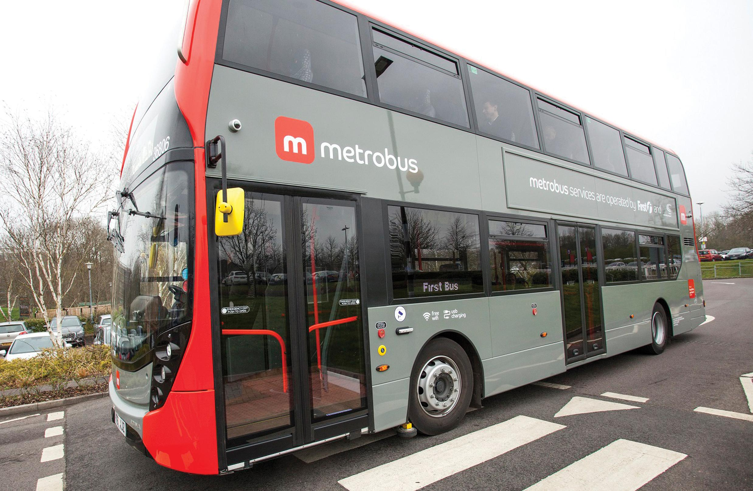 Bristol Metrobus is ready to roll