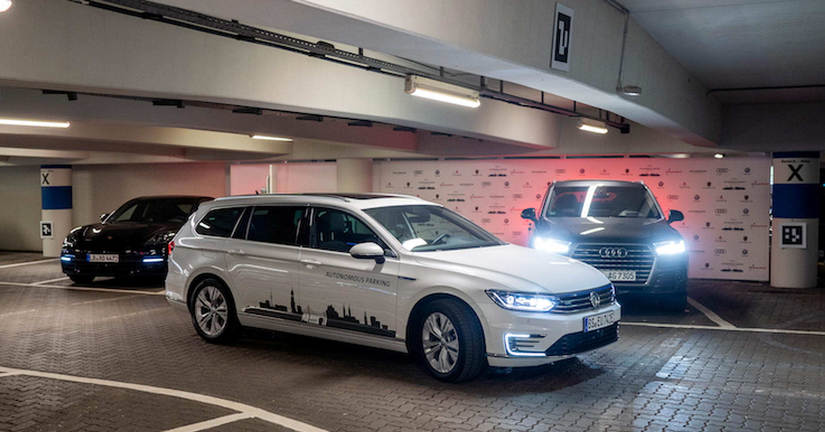Volkswagen pilots autonomous parking at Hamburg Airport