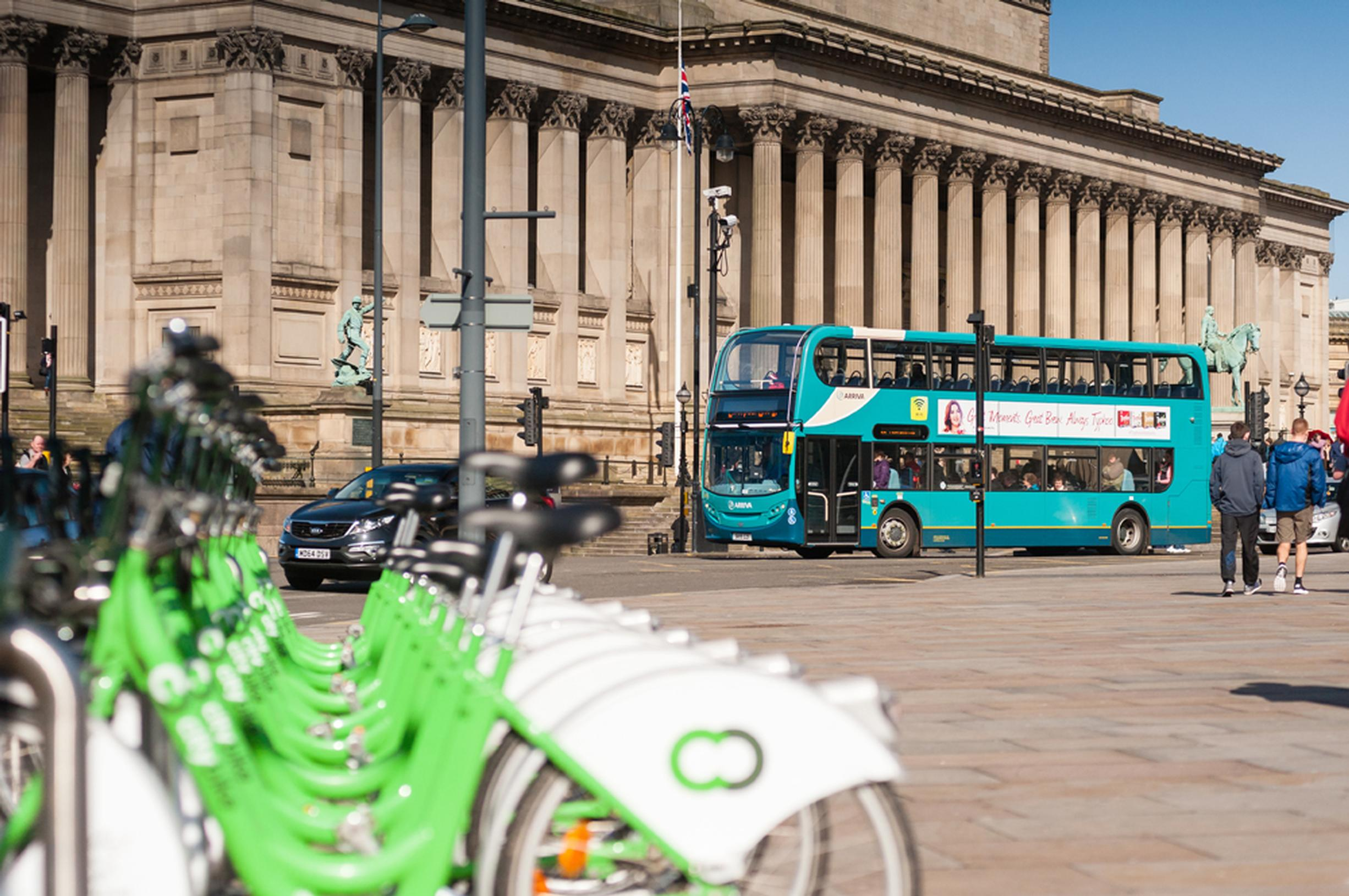 LCR is integrating modes to provide easy local journeys. Image courtesy of Merseytravel